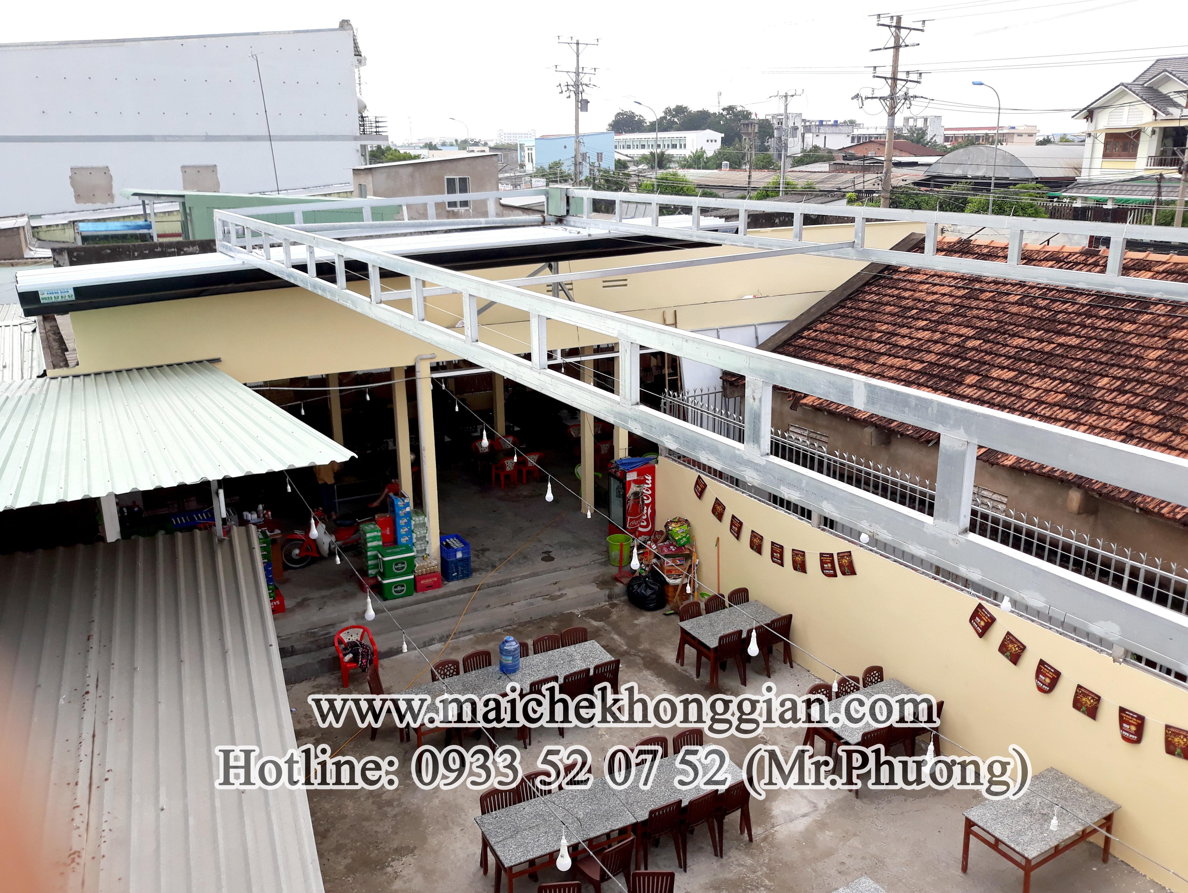 Mái Che Quán Nhậu Tân Phú Đông Tiền Giang