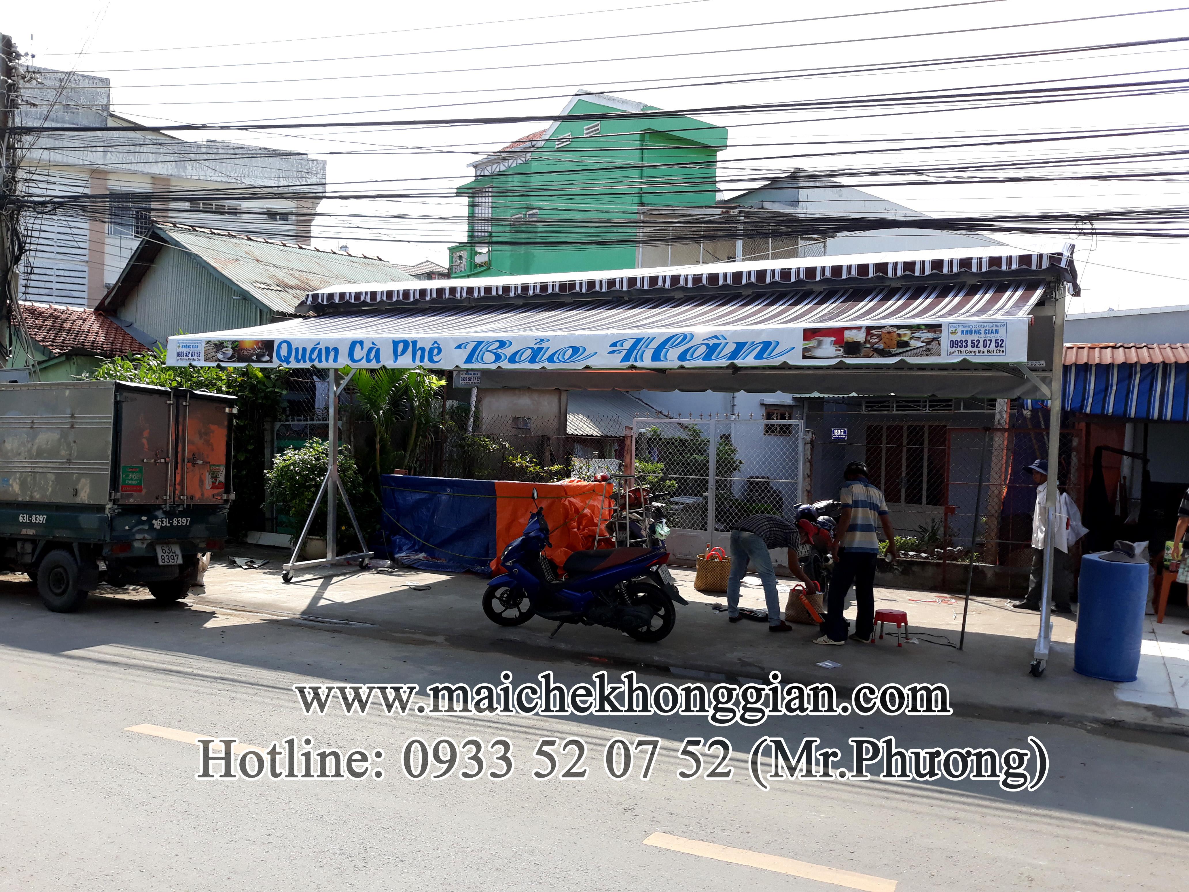 Mái Che Lưu Động Chợ Gạo Tiền Giang