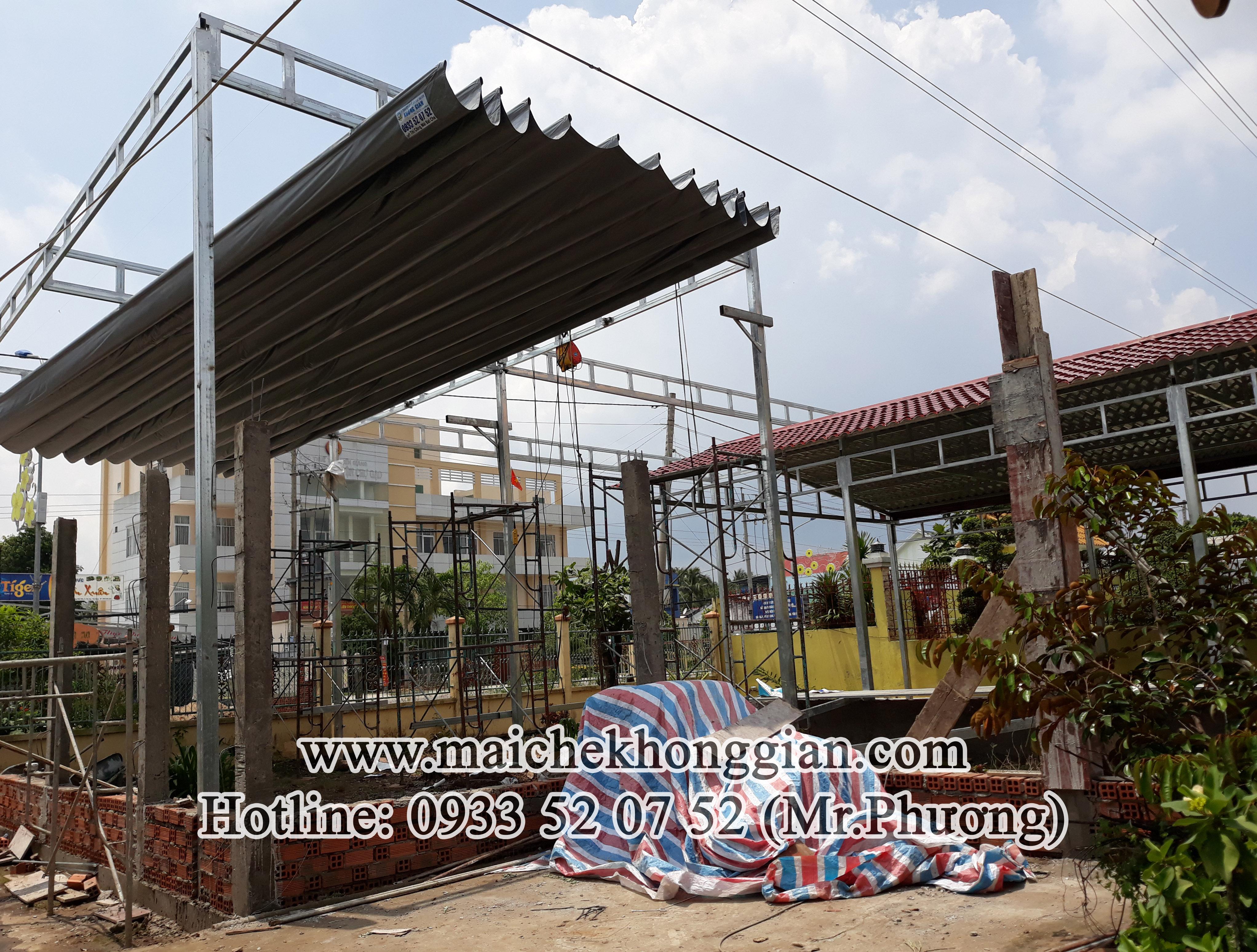 Mái bạt Huyện Cù Lao Dung Sóc Trăng