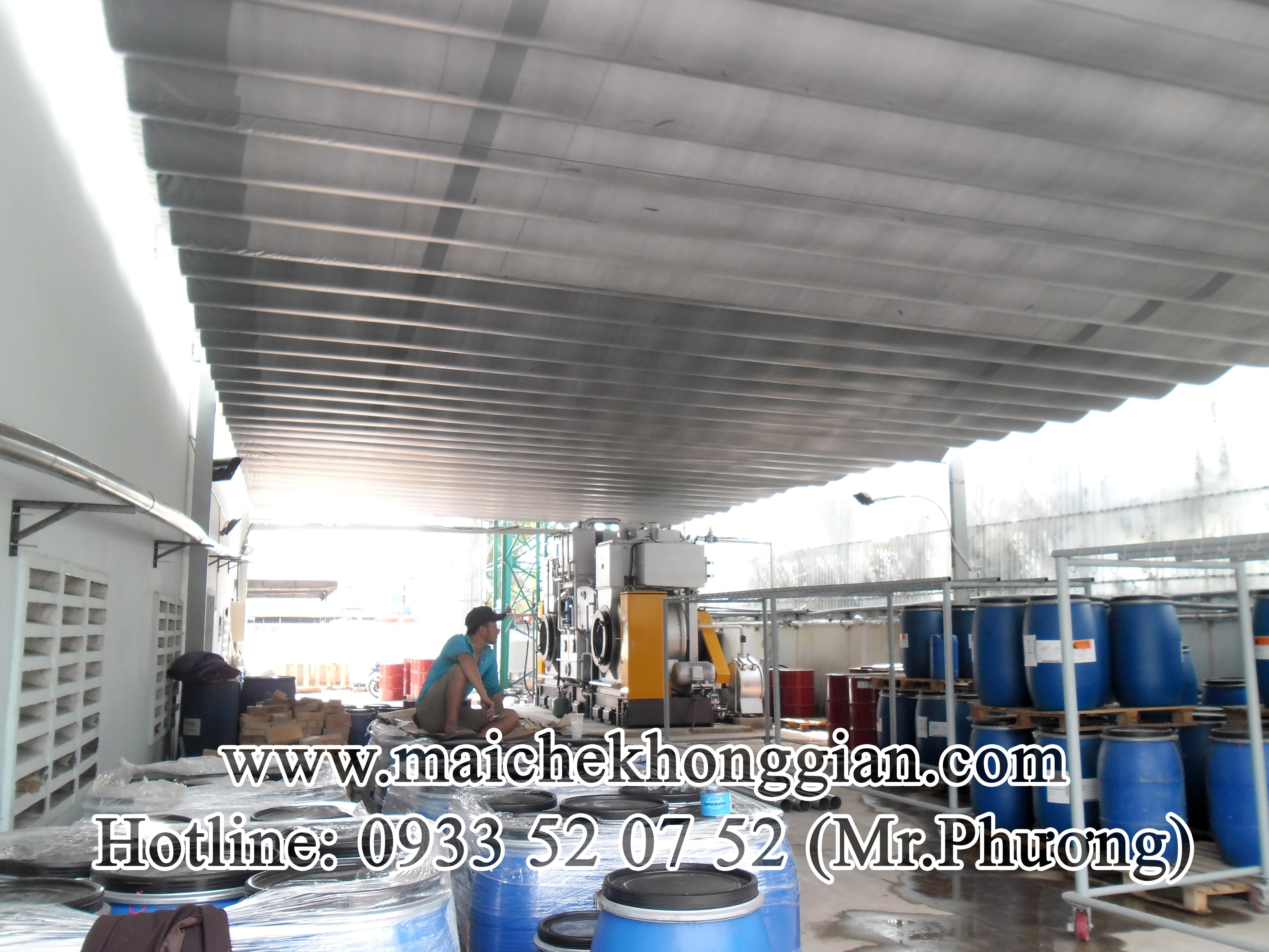 Mái Che Kho Hàng Huyện Bình Minh Vĩnh Long