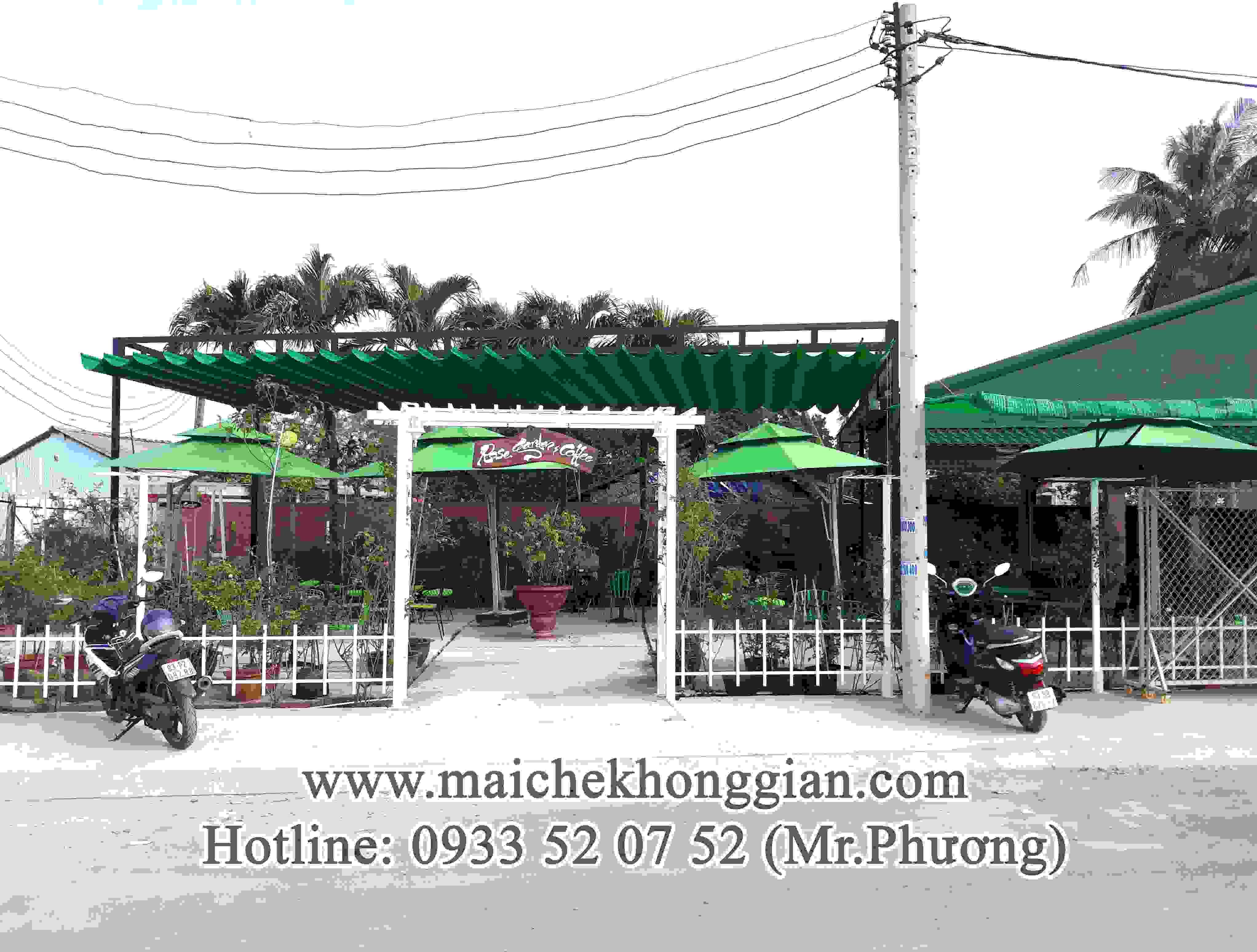 Mái Che Bạt Thị Xã Long Mỹ Hậu Giang
