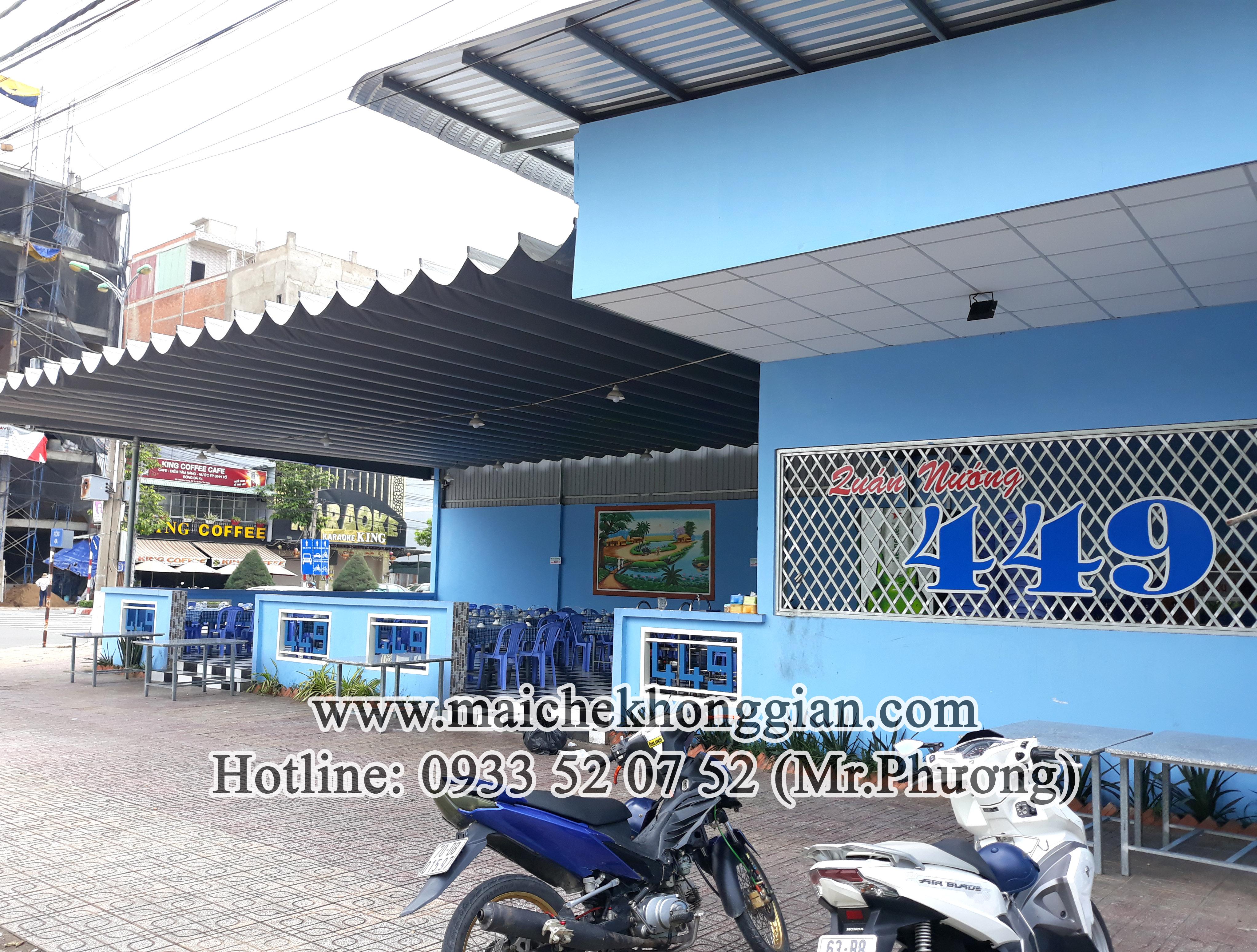 Mái bạt di động thị xã Bình Minh Vĩnh Long