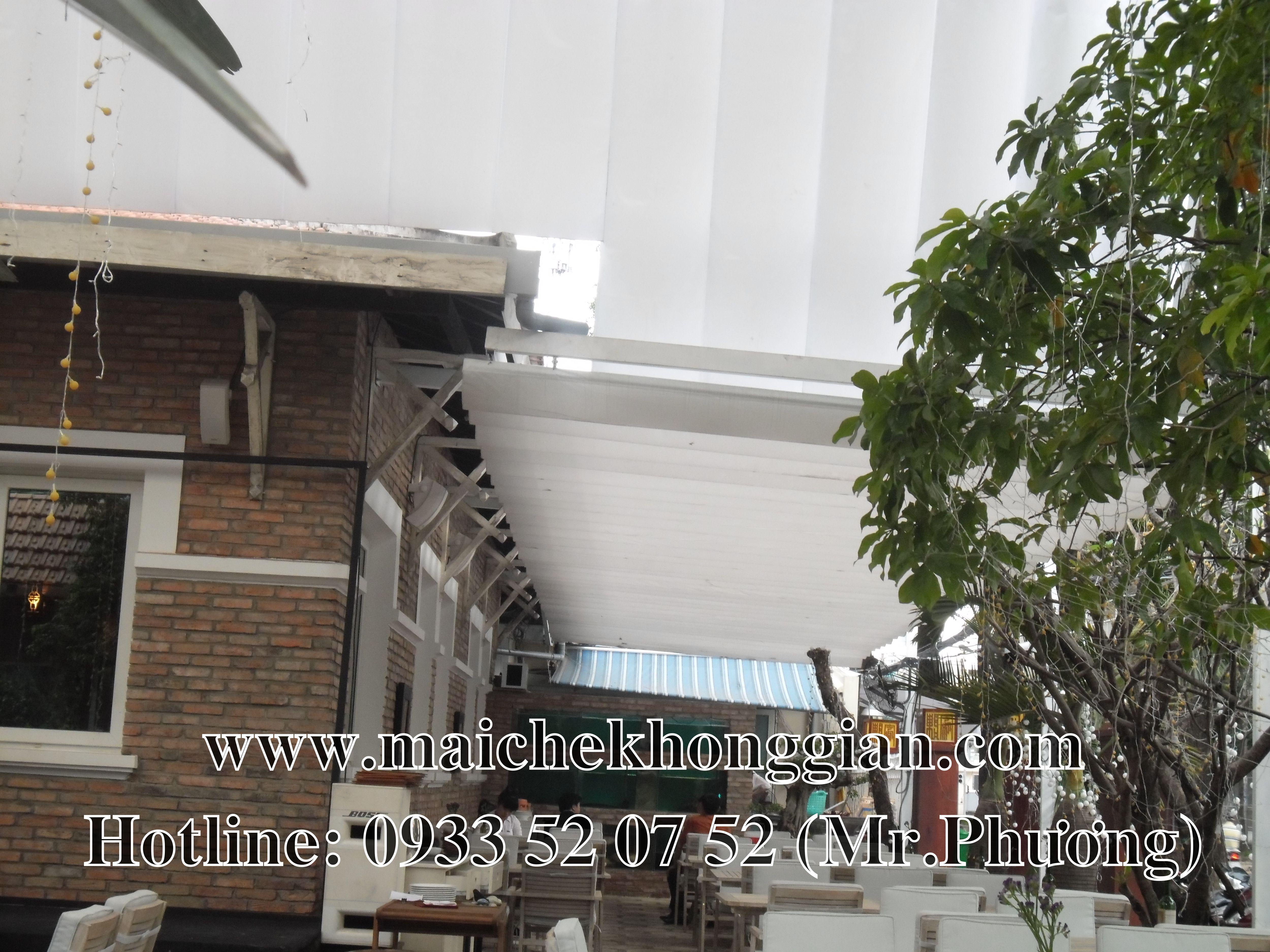 Mái che nhà hàng Kiến Tường Long An