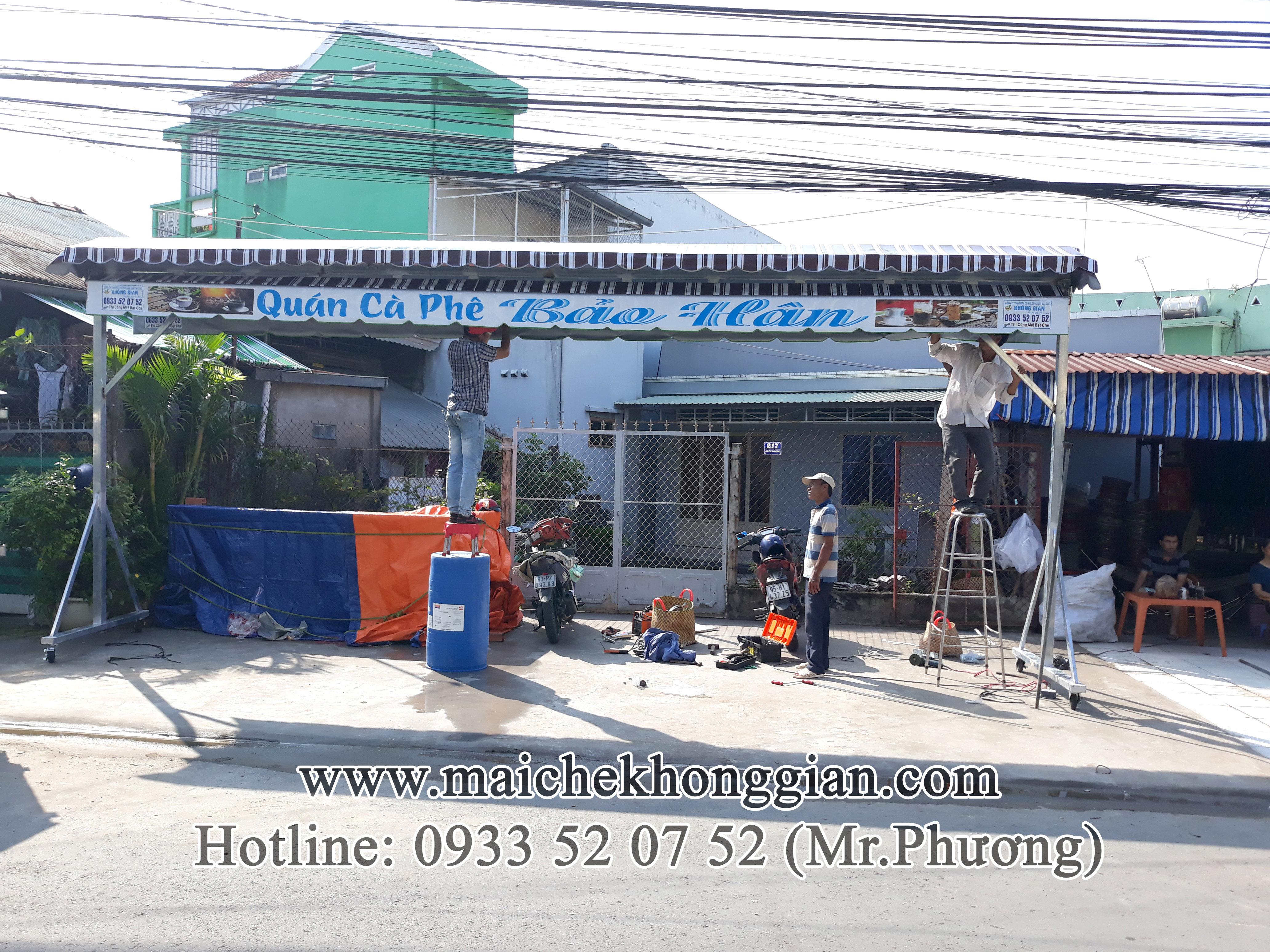 Mái bạt di động Huyện Trà Ôn Vĩnh Long