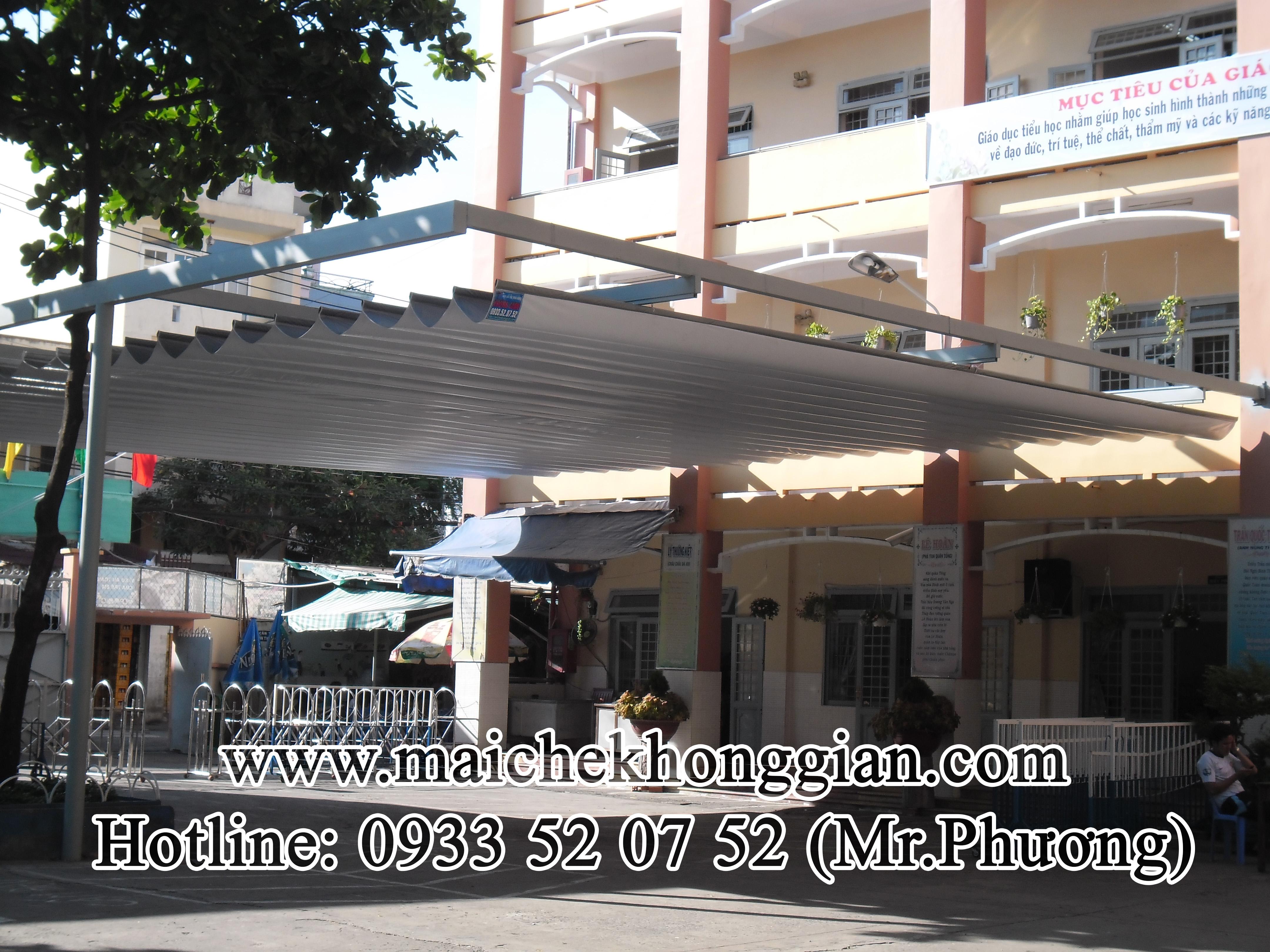 Mái Che Sân Trường Cái Bè Tiền Giang