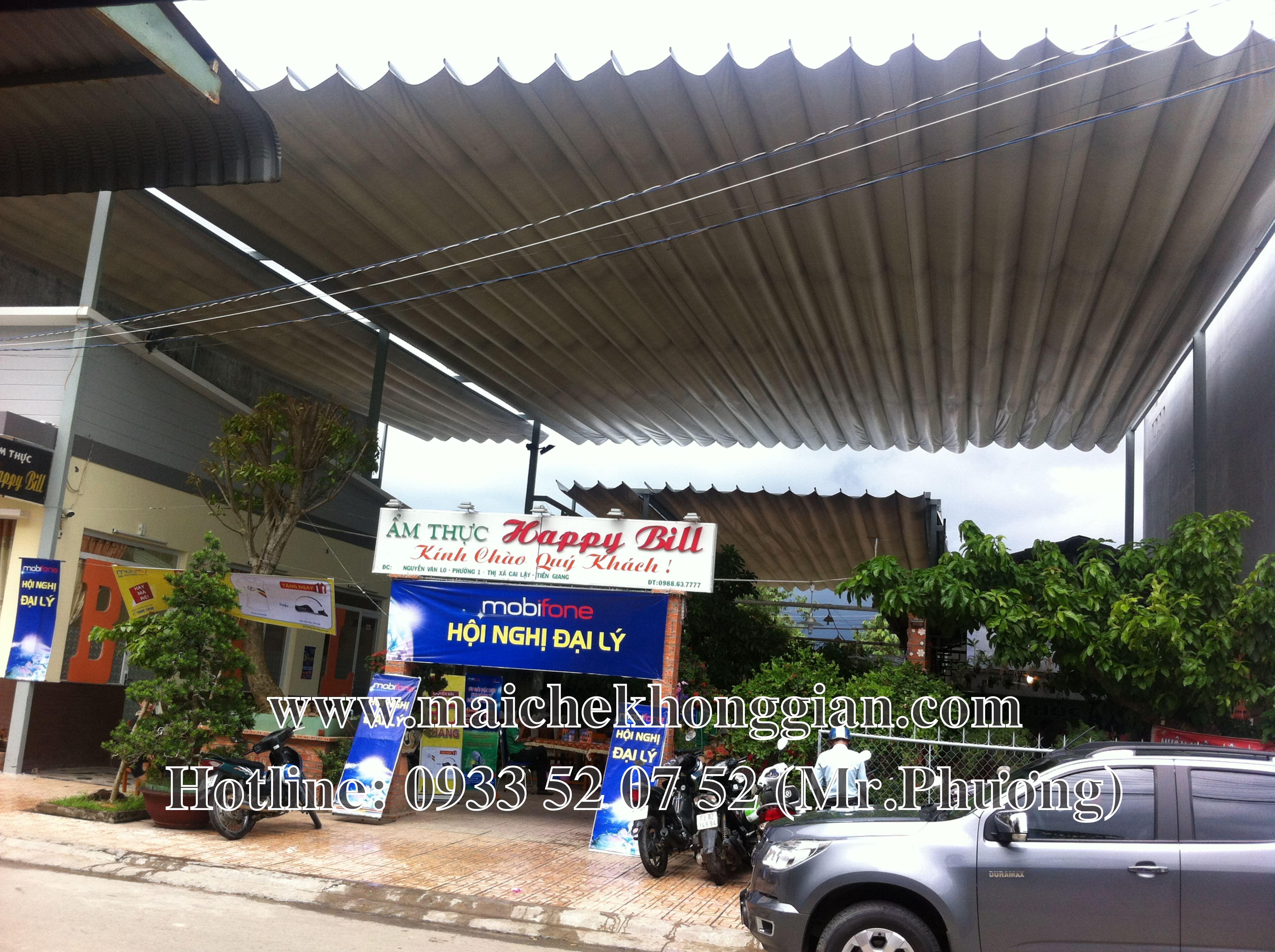 Mái bạt di động Huyện Châu Thành Sóc Trăng