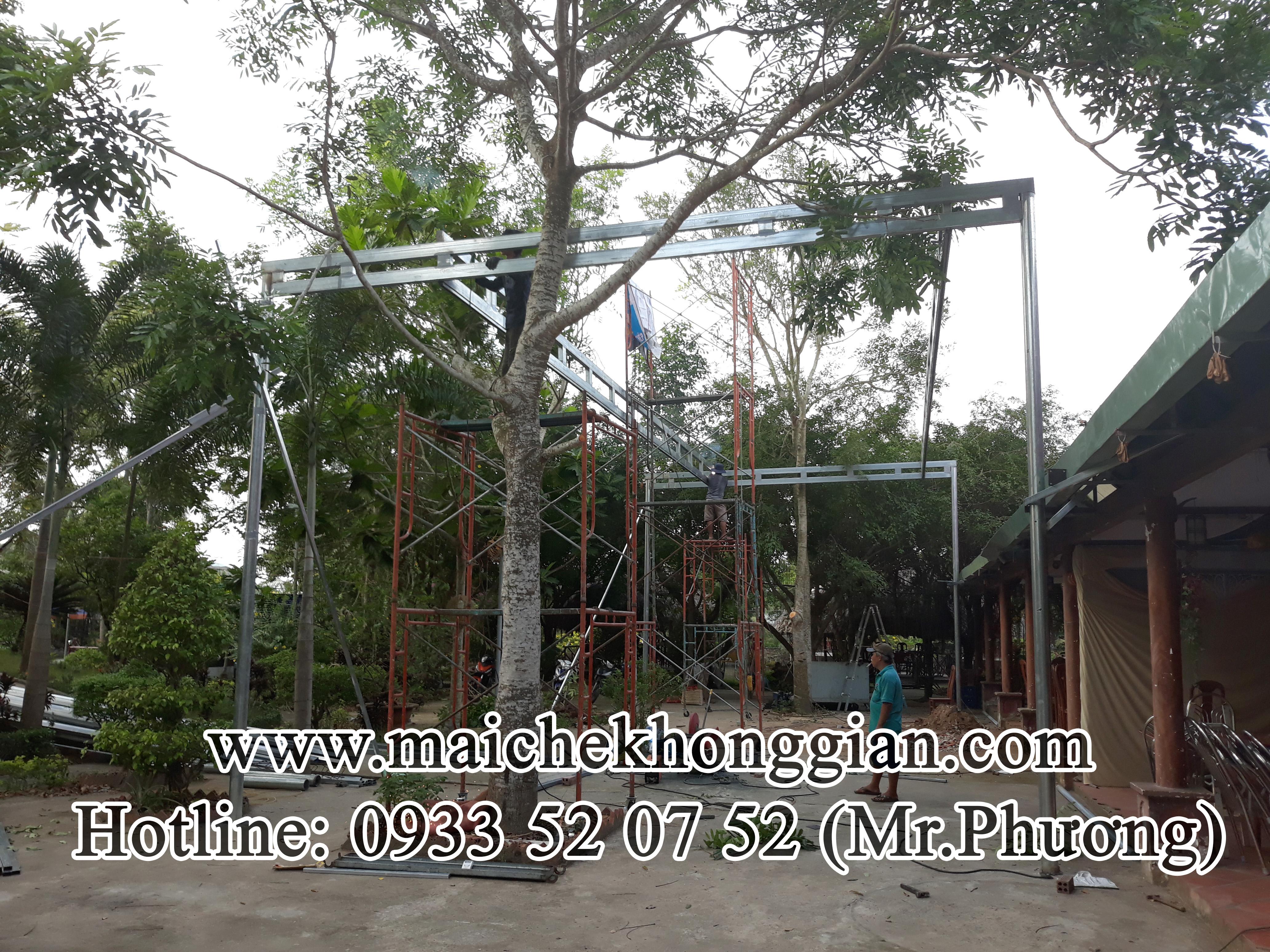 Mái bạt di động Huyện Cù Lao Dung Sóc Trăng