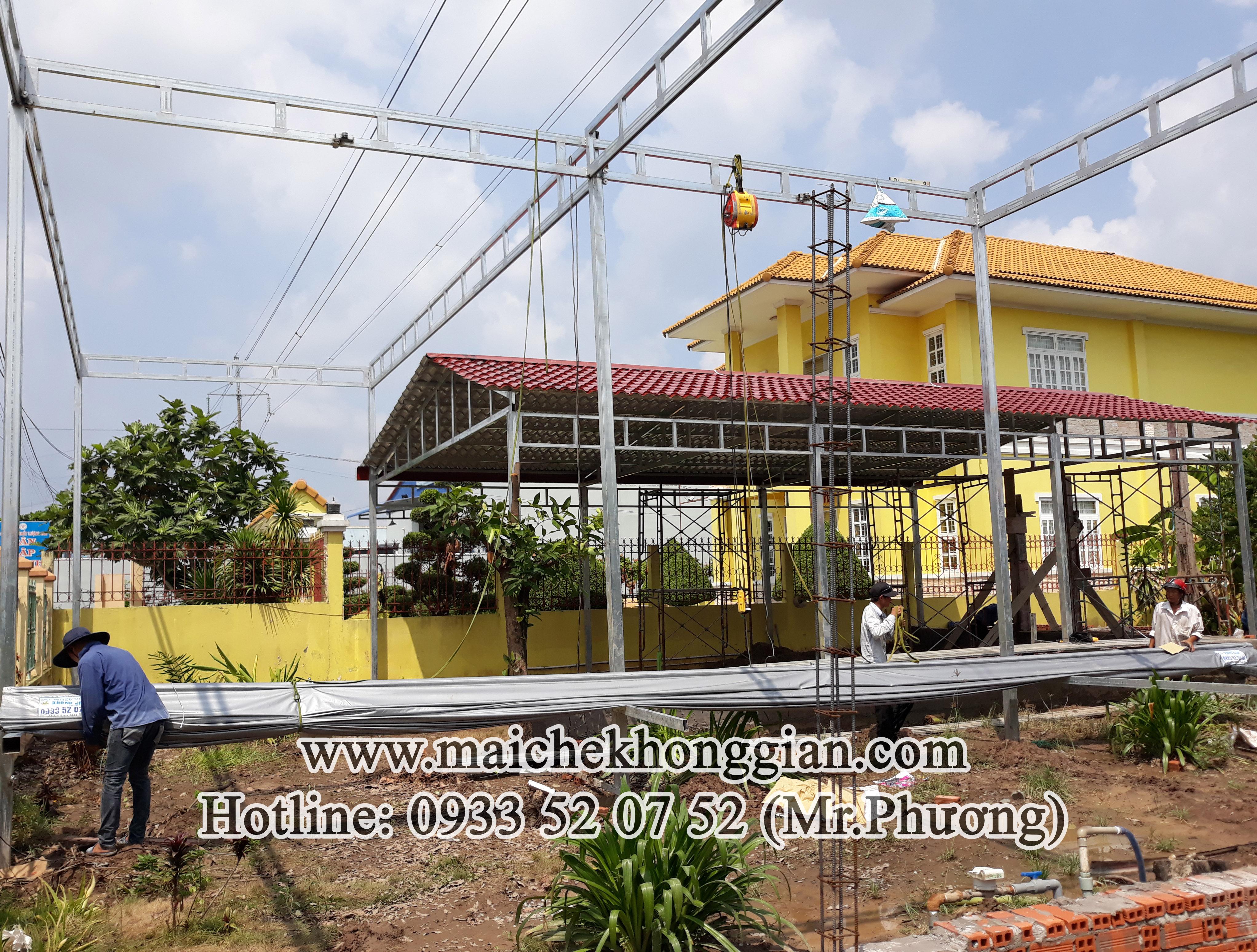 Mái bạt di động Huyện Trần Đề Sóc Trăng