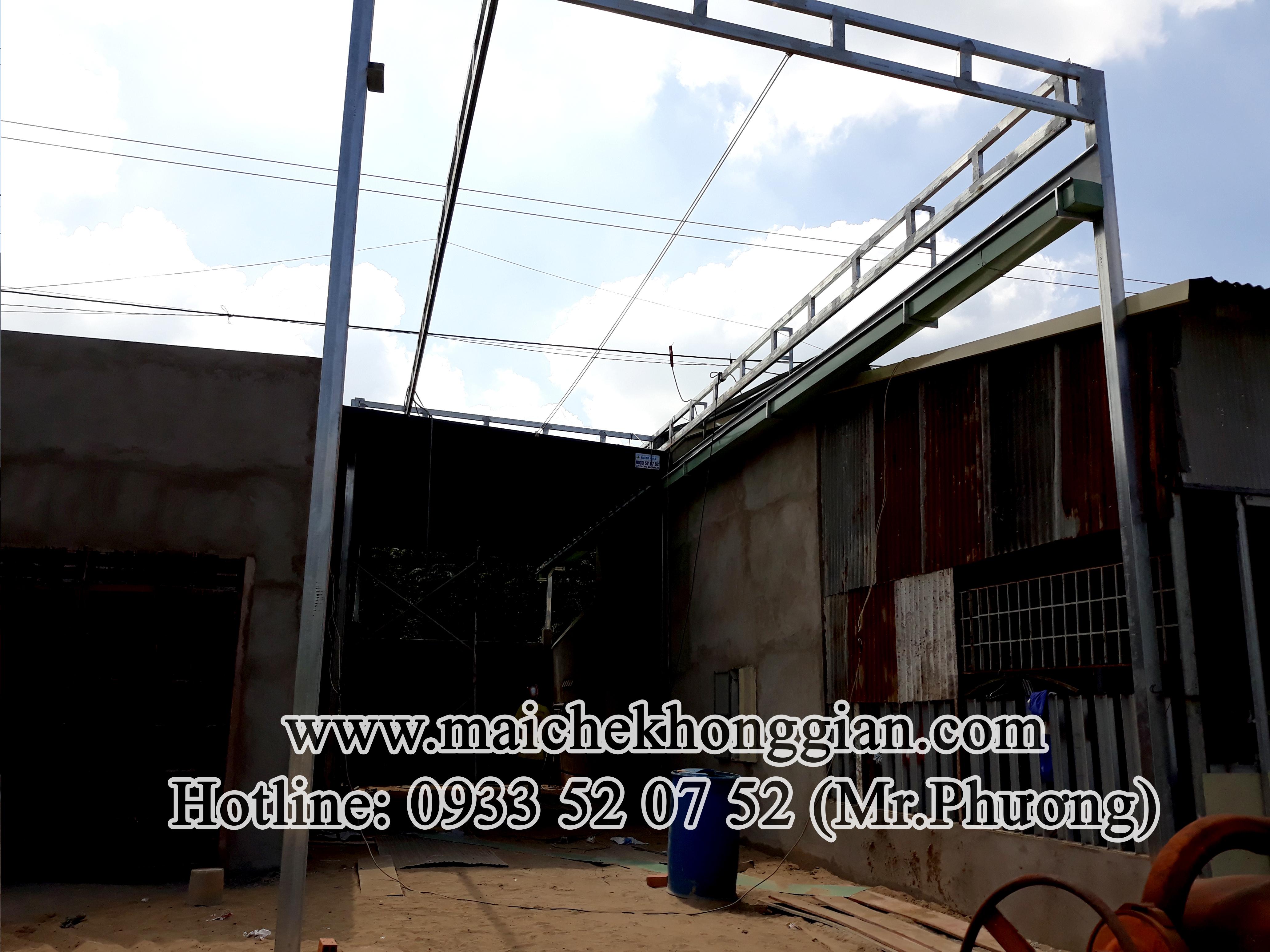 Mái bạt di động Gò Dầu Tây Ninh