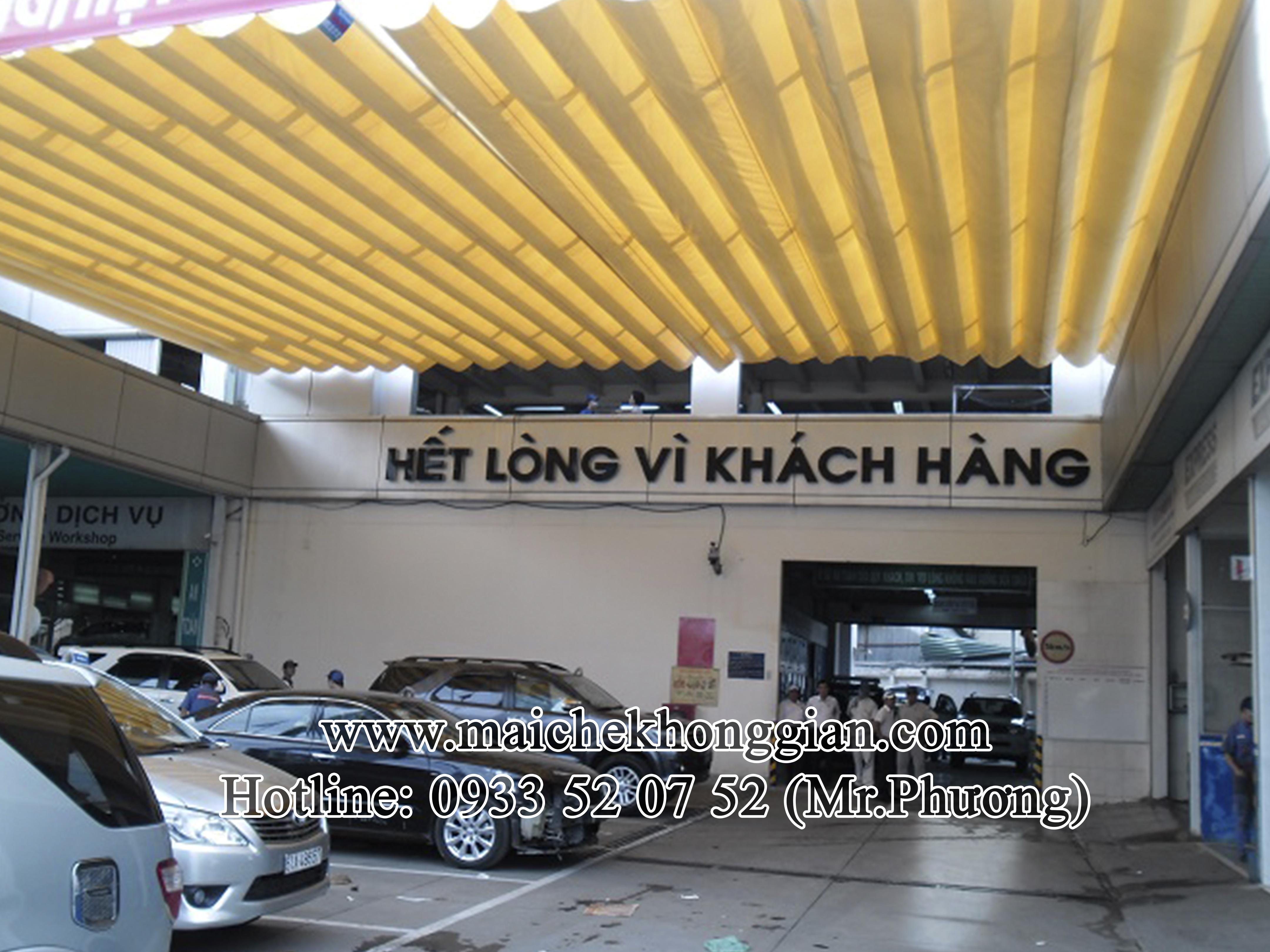 Mái Che Xe Huyện Mang Thít Vĩnh Long