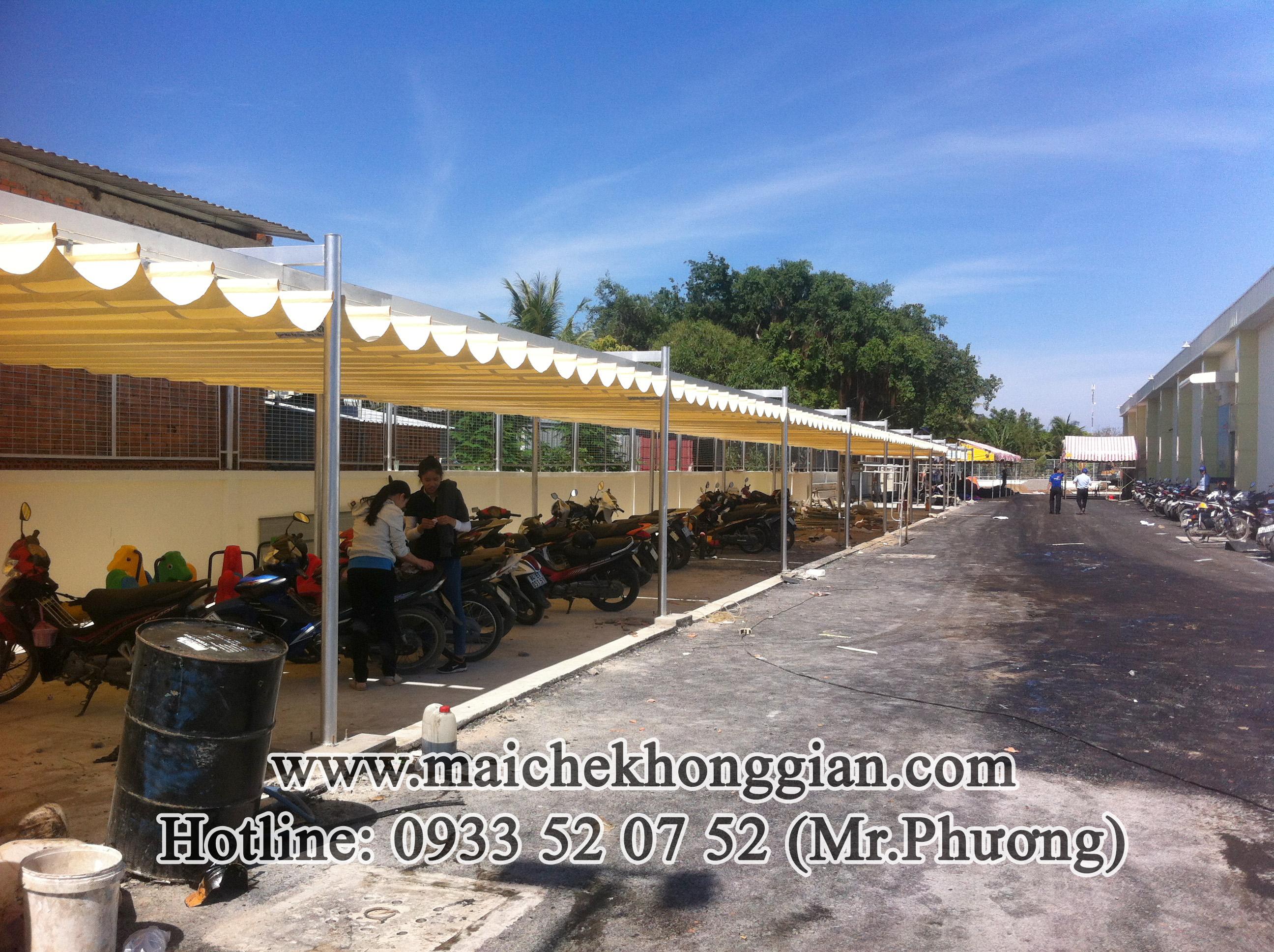 Mái Che Nhà Để Xe Huyện Tam Bình Vĩnh Long