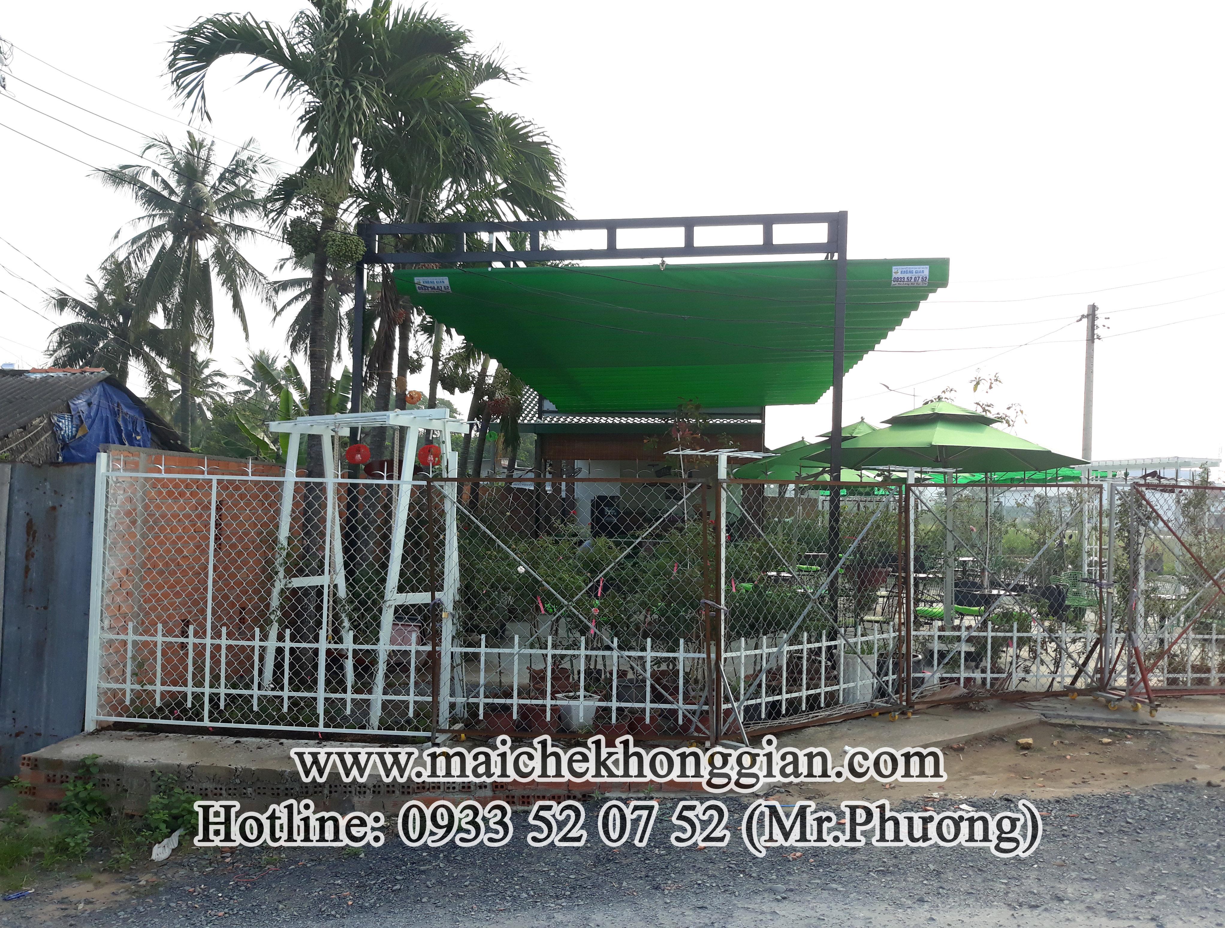 Mái Che Bạt Huyện Cù Lao Dung Sóc Trăng