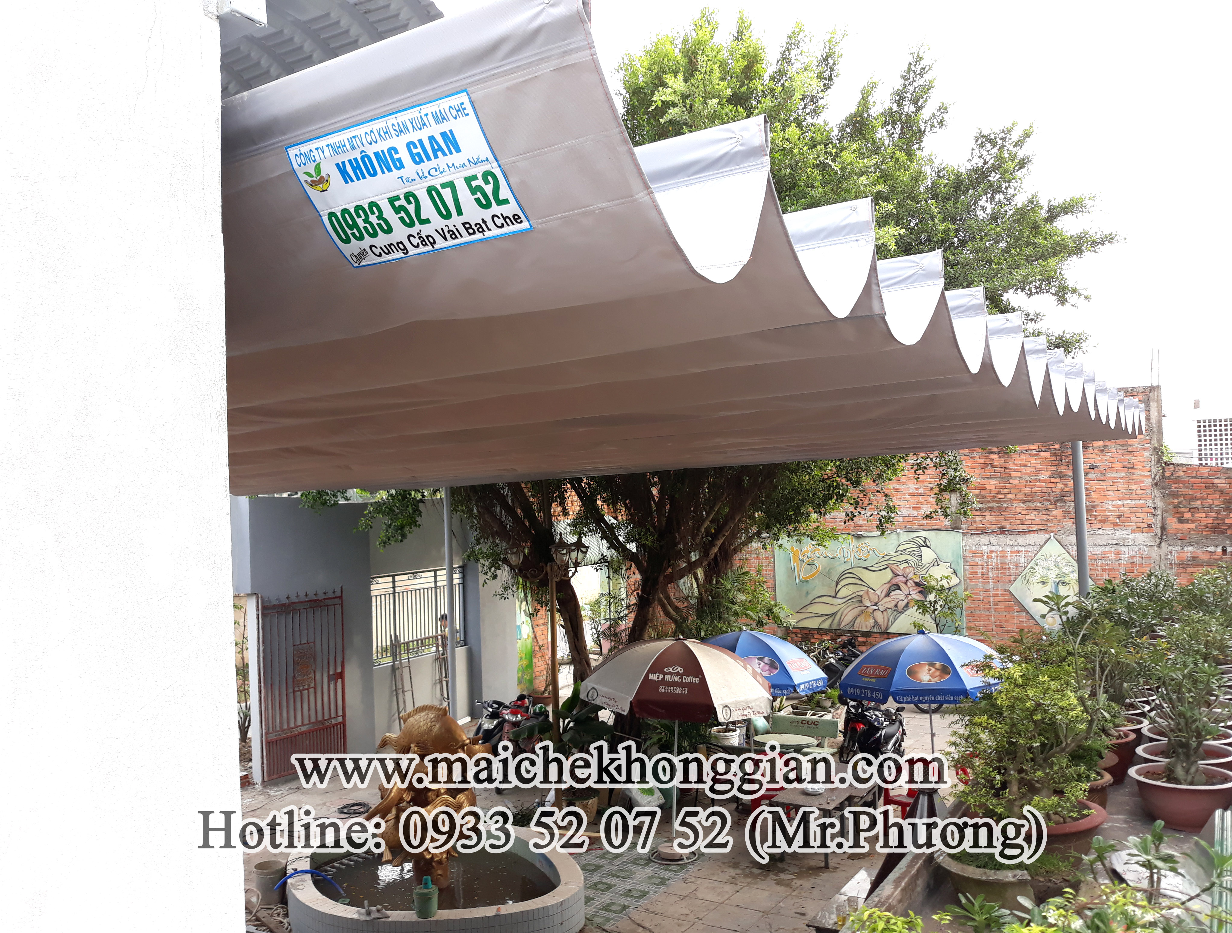 Mái Che Tự Động Huyện Kế Sách Sóc Trăng