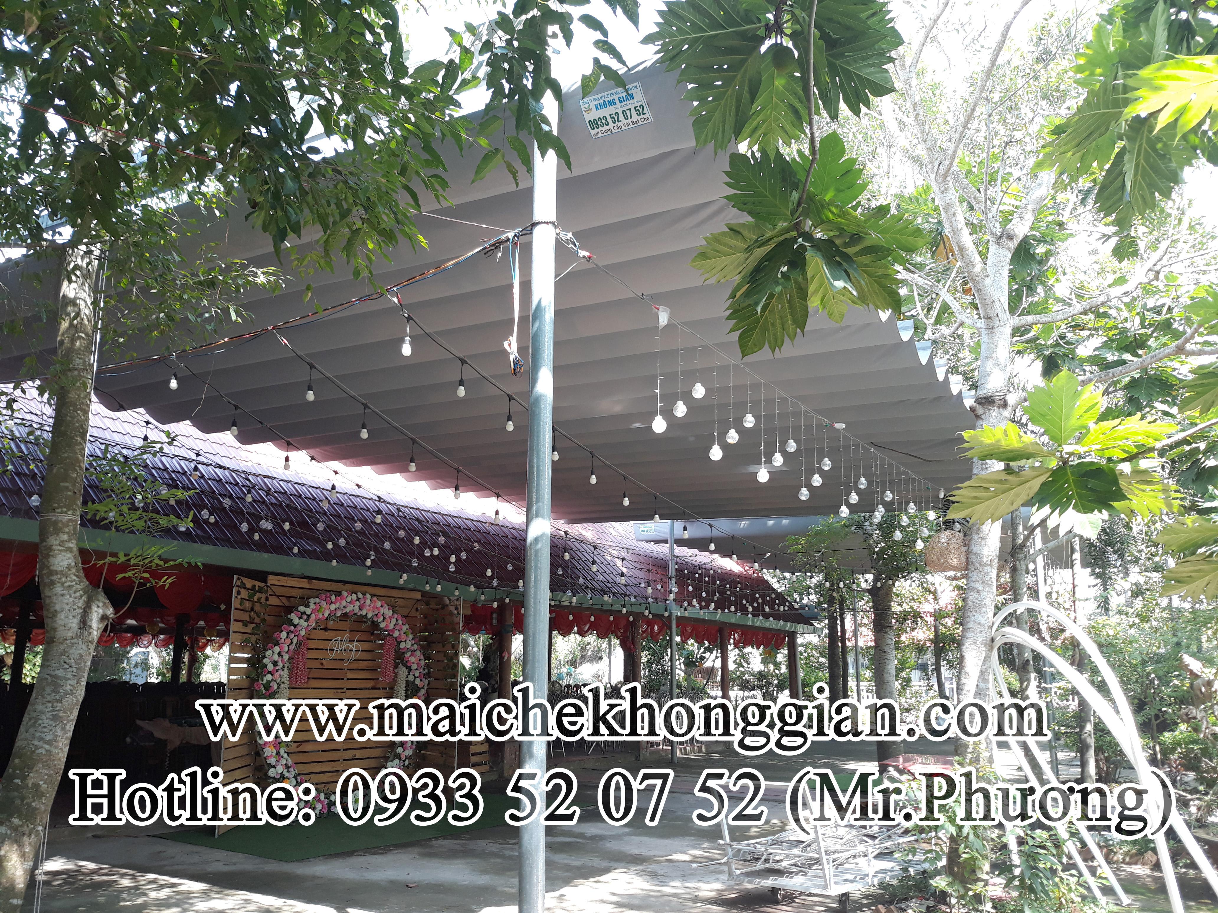 Thay bạt mái che Quận Tân Phú TP Hồ Chí Minh