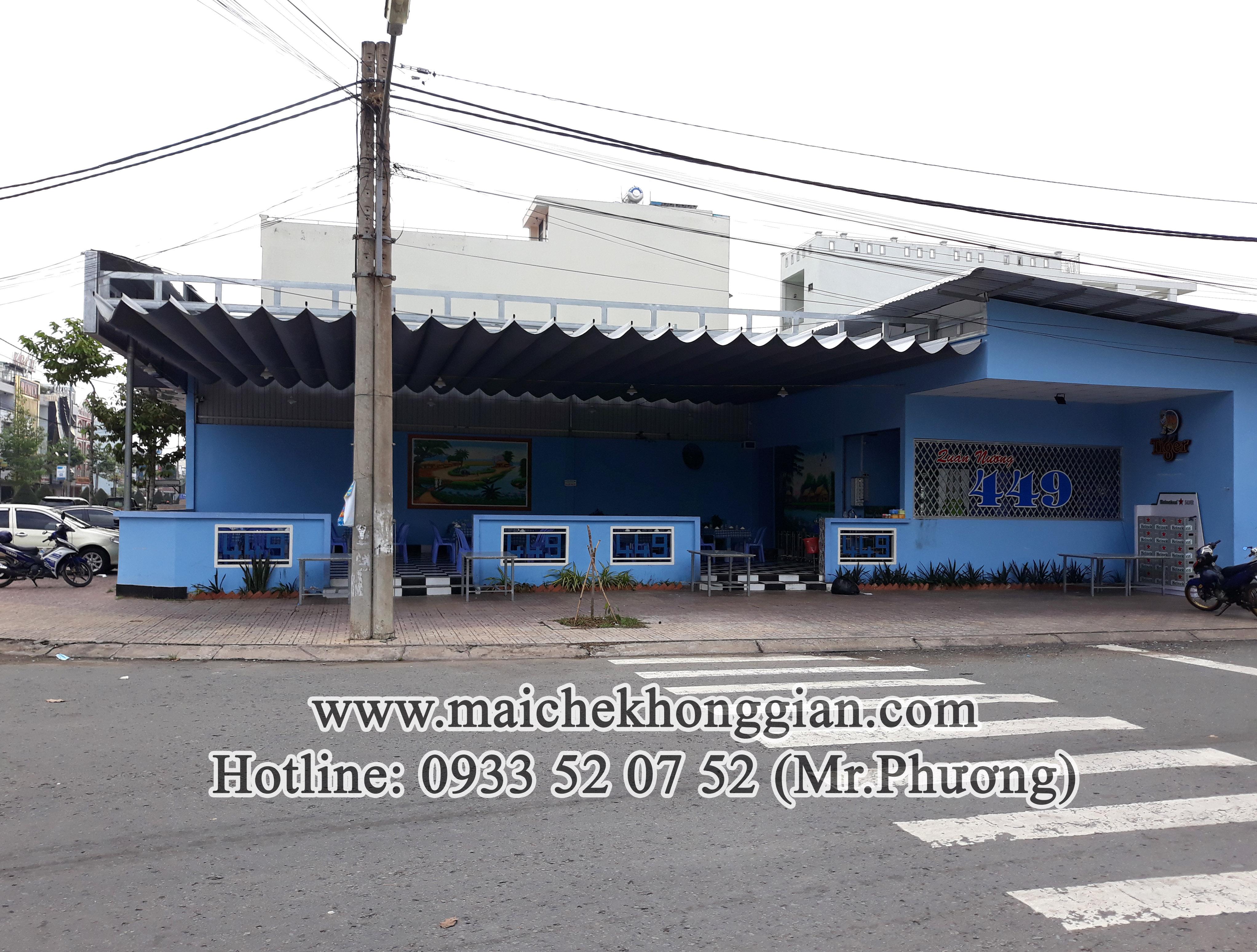 Bạt mái che thị xã Bình Minh Vĩnh Long