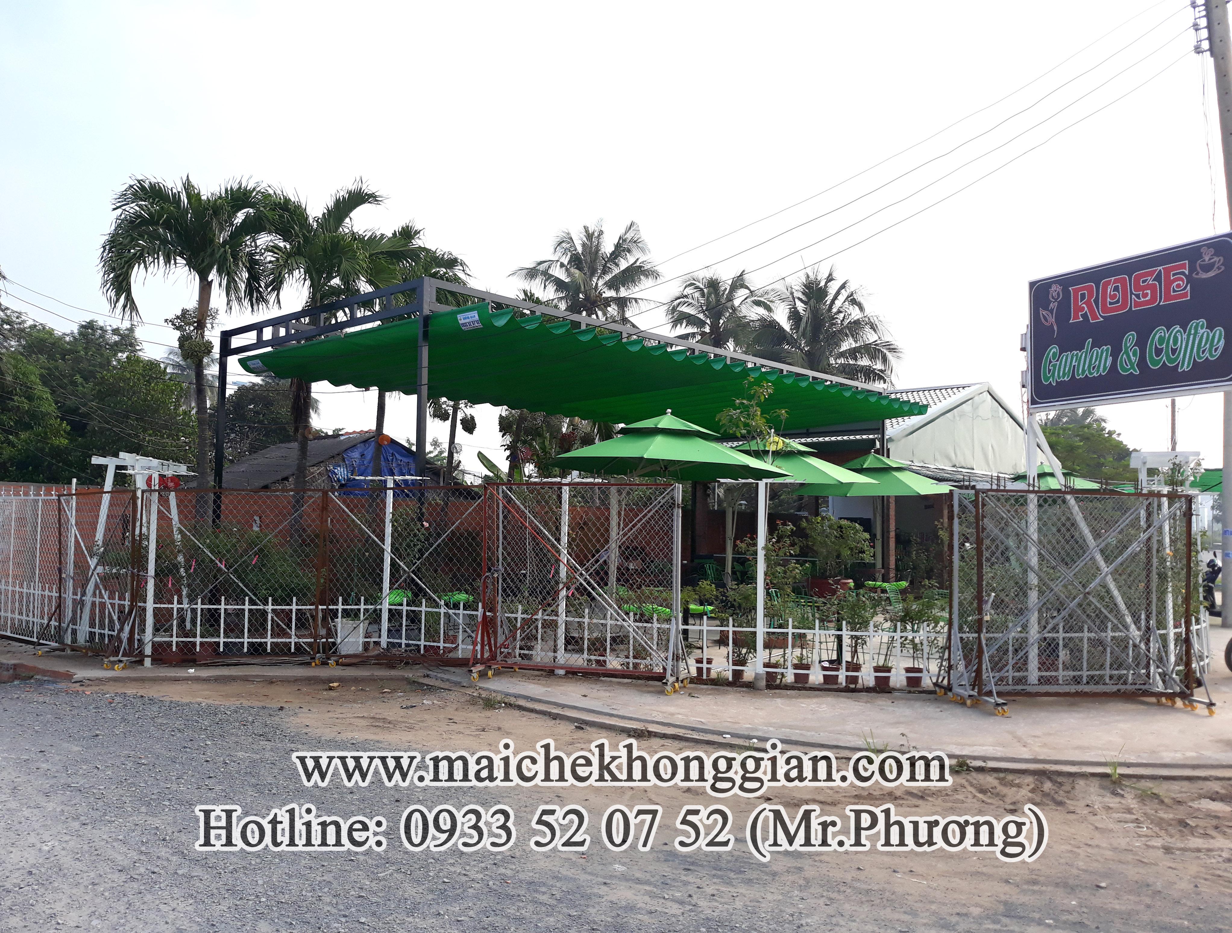 Mái Che Bạt Thị Xã Cai Lậy Tiền Giang
