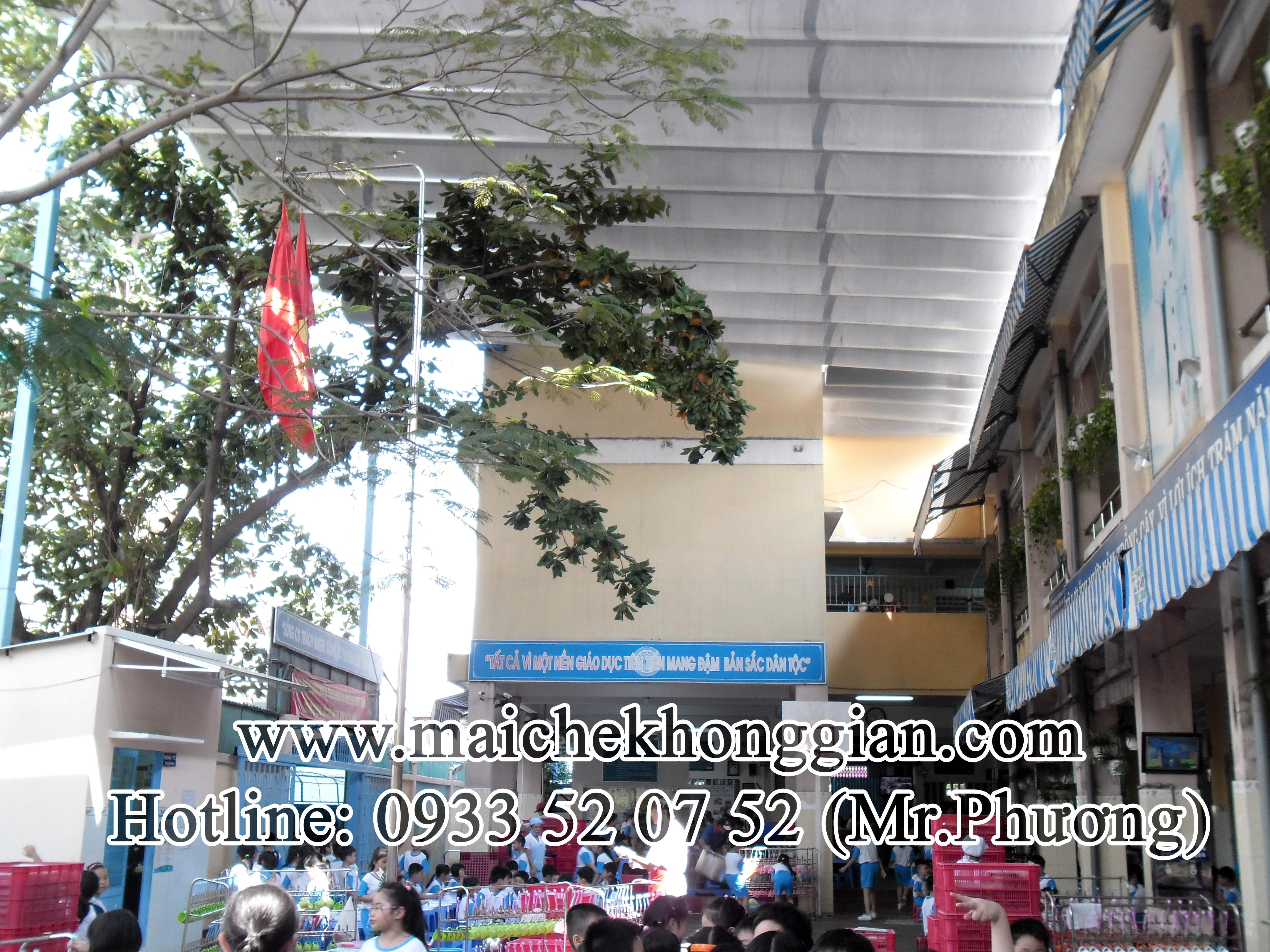 Mái Che Trường Học Tân Phú Đông Tiền Giang
