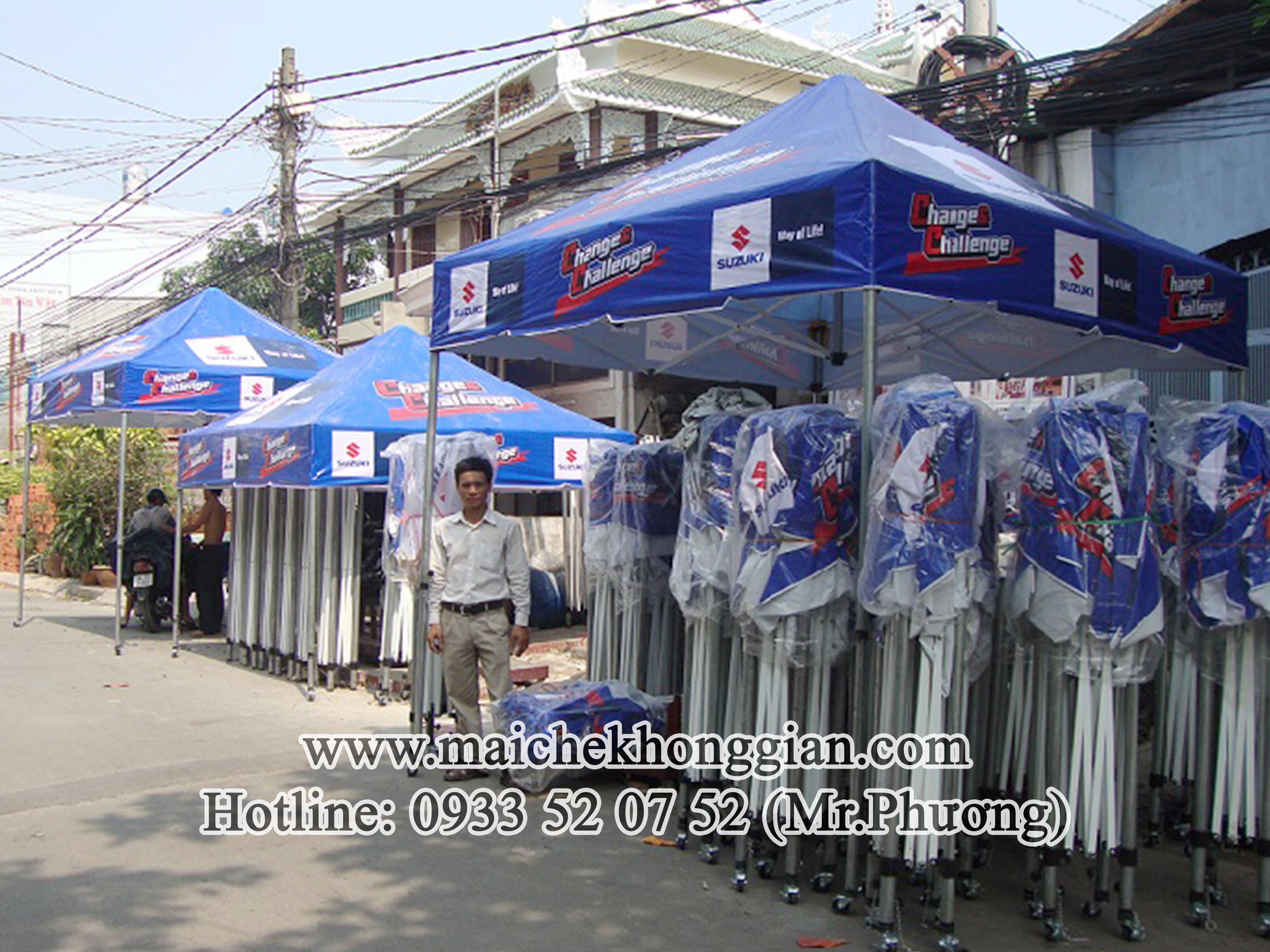 Mái Che Hàng Hóa Chợ Lách Bến Tre