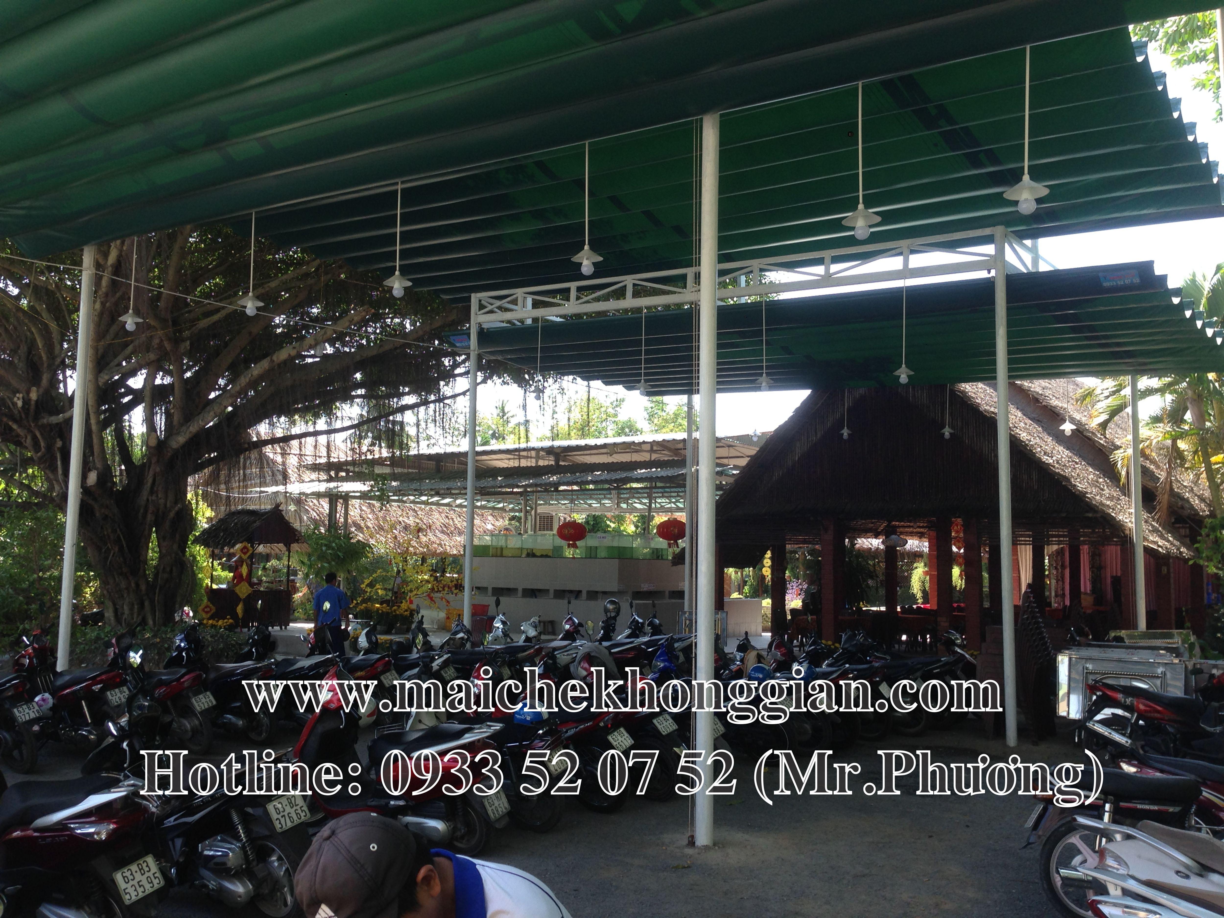 Mái Che Nhà Xe Quận Ninh Kiều Cần Thơ
