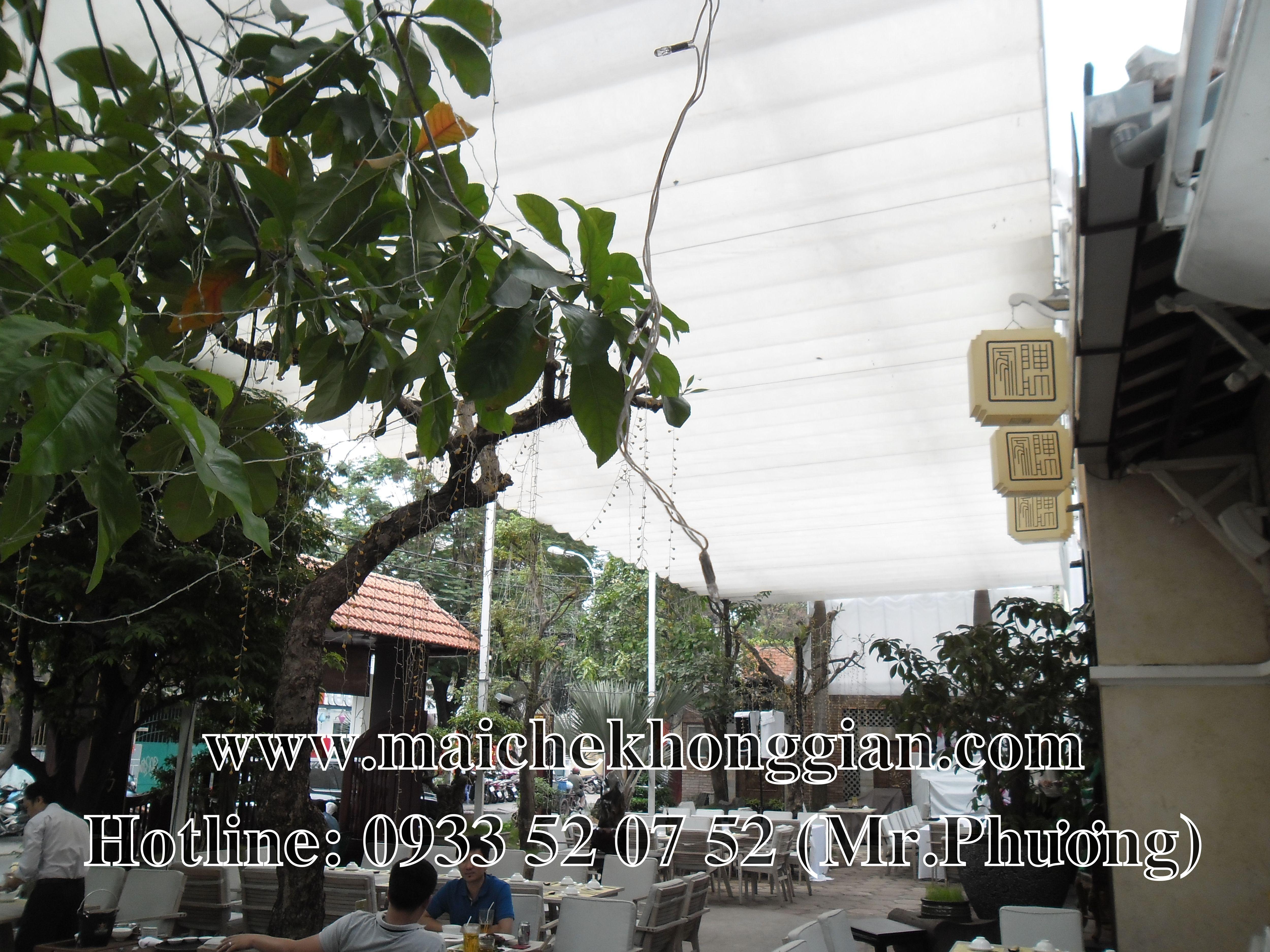 Mái Che Nhà Hàng Huyện Trà Ôn Vĩnh Long