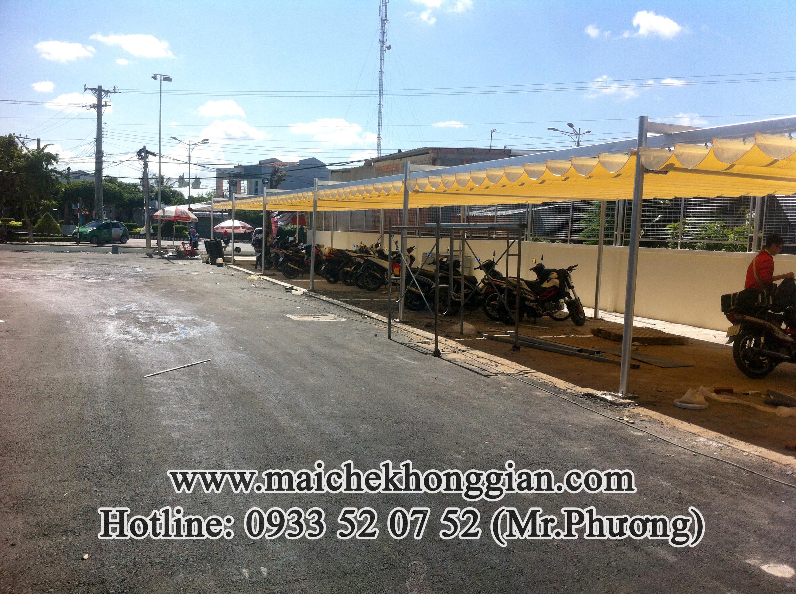 Mái Che Nhà Để Xe Huyện Long Phú Sóc Trăng