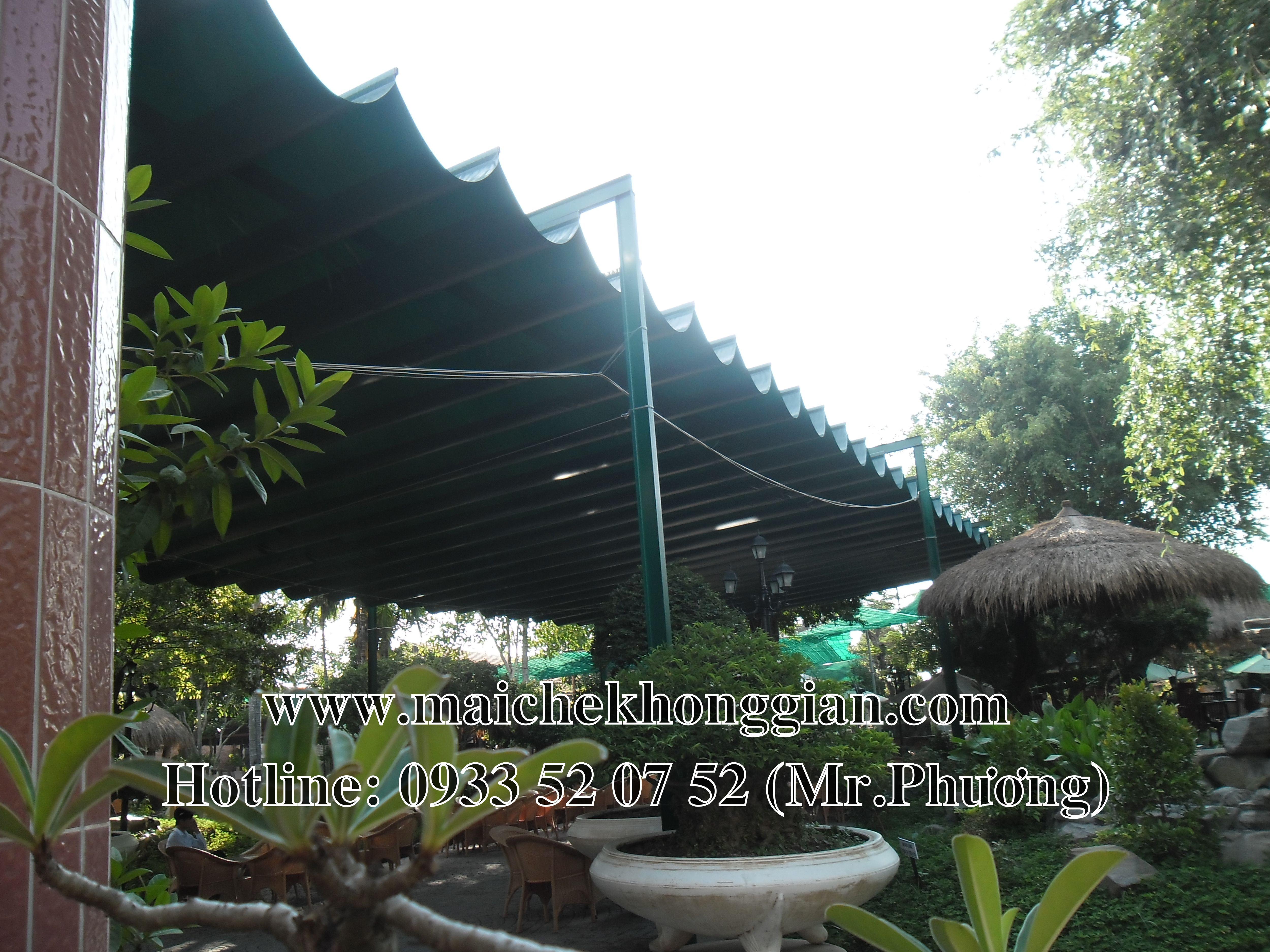 Mái che tự động Thủ Thừa Long An