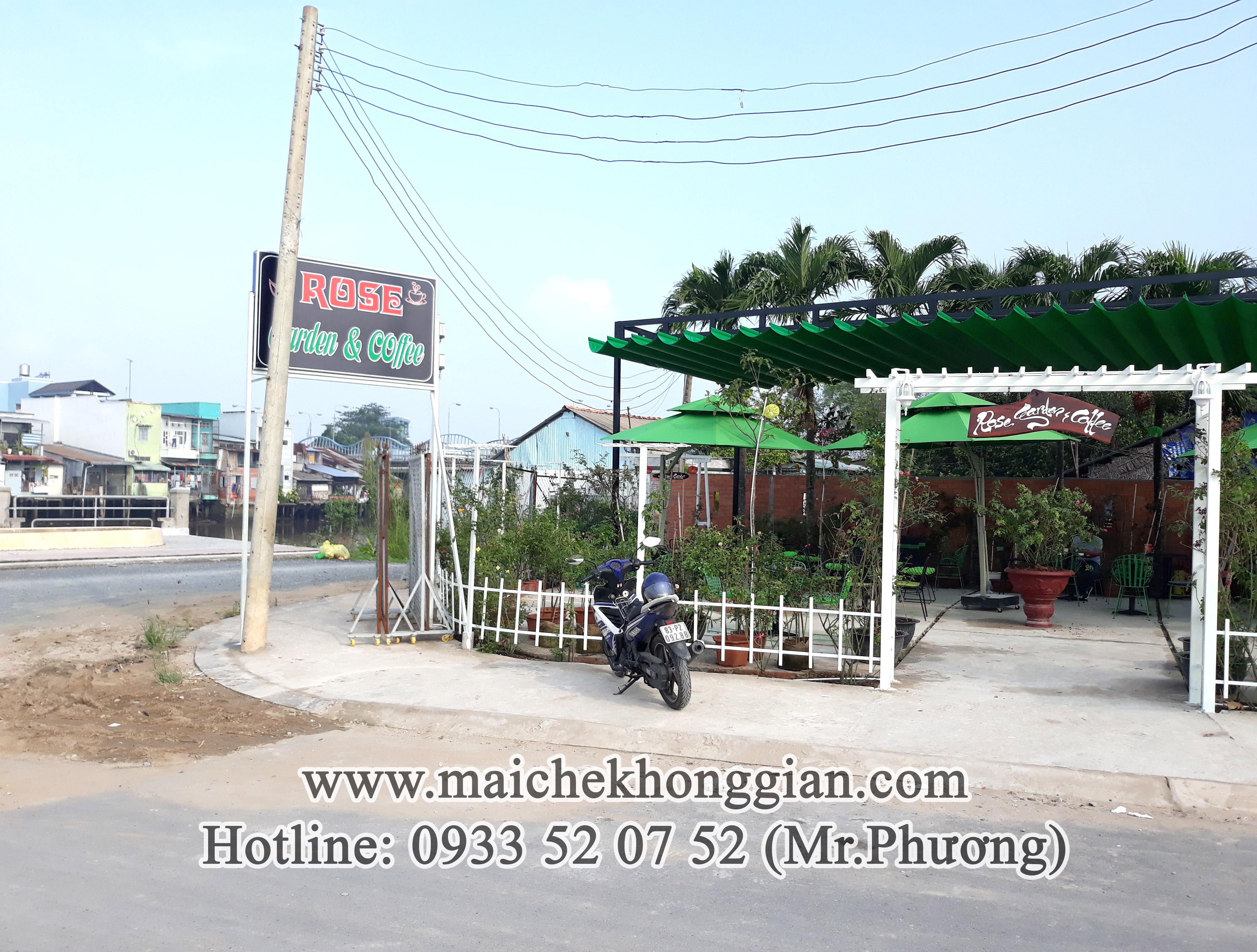 Mái Che Bạt Chợ Gạo Tiền Giang