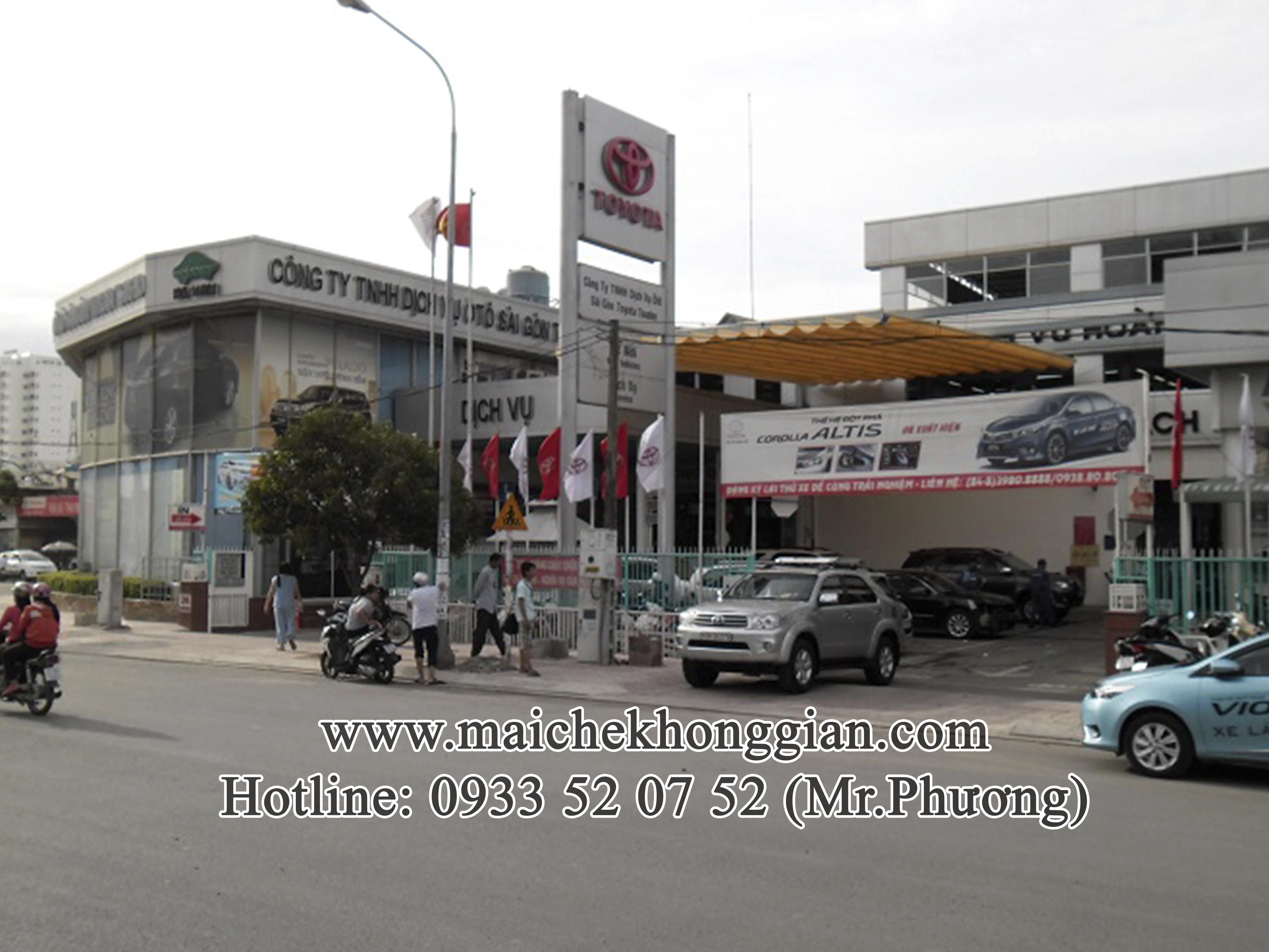 Mái Che Xe Tân Phú Đông Tiền Giang