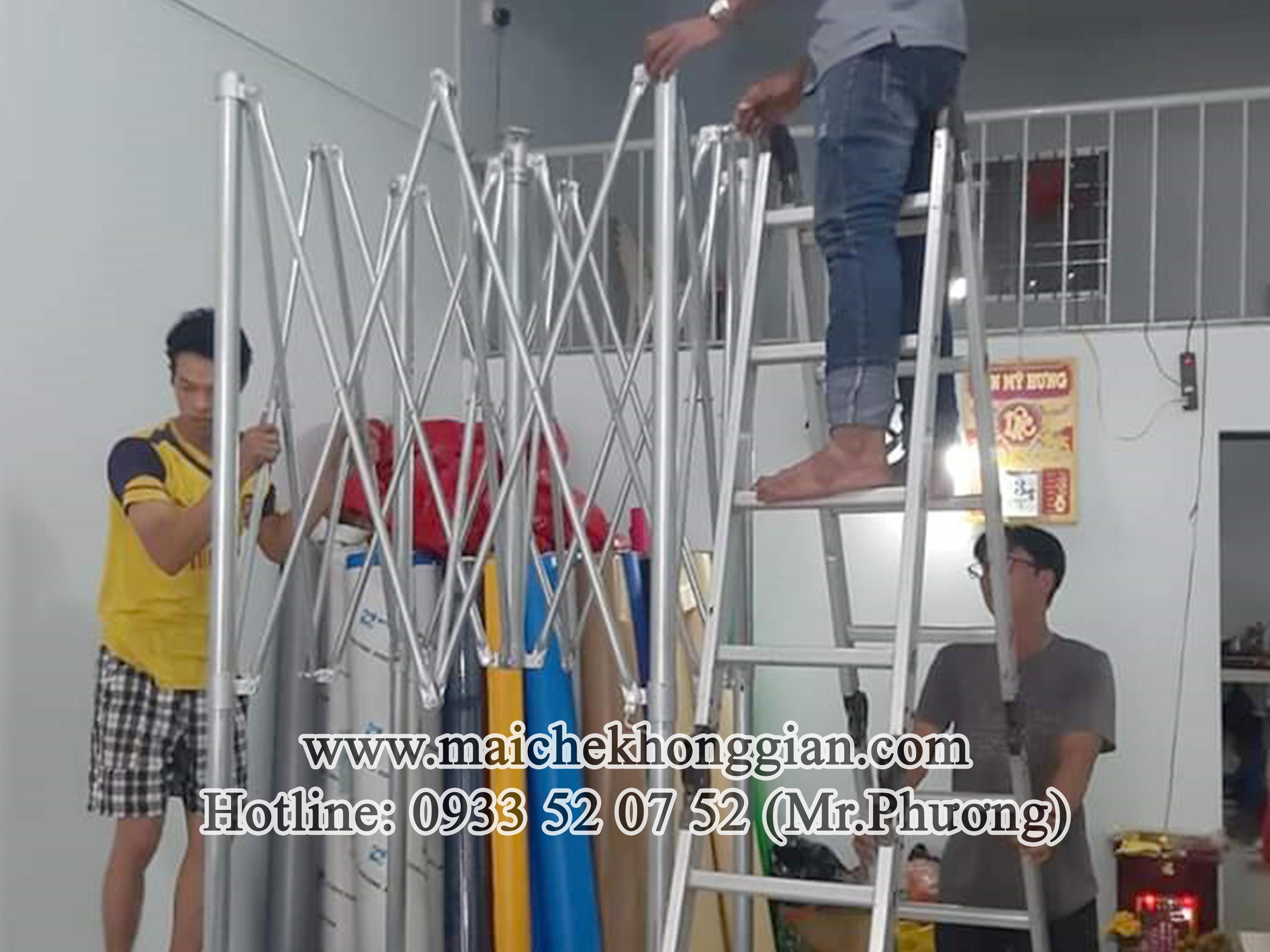 Mái Che Gian Hàng Thị Xã Cai Lậy Tiền Giang