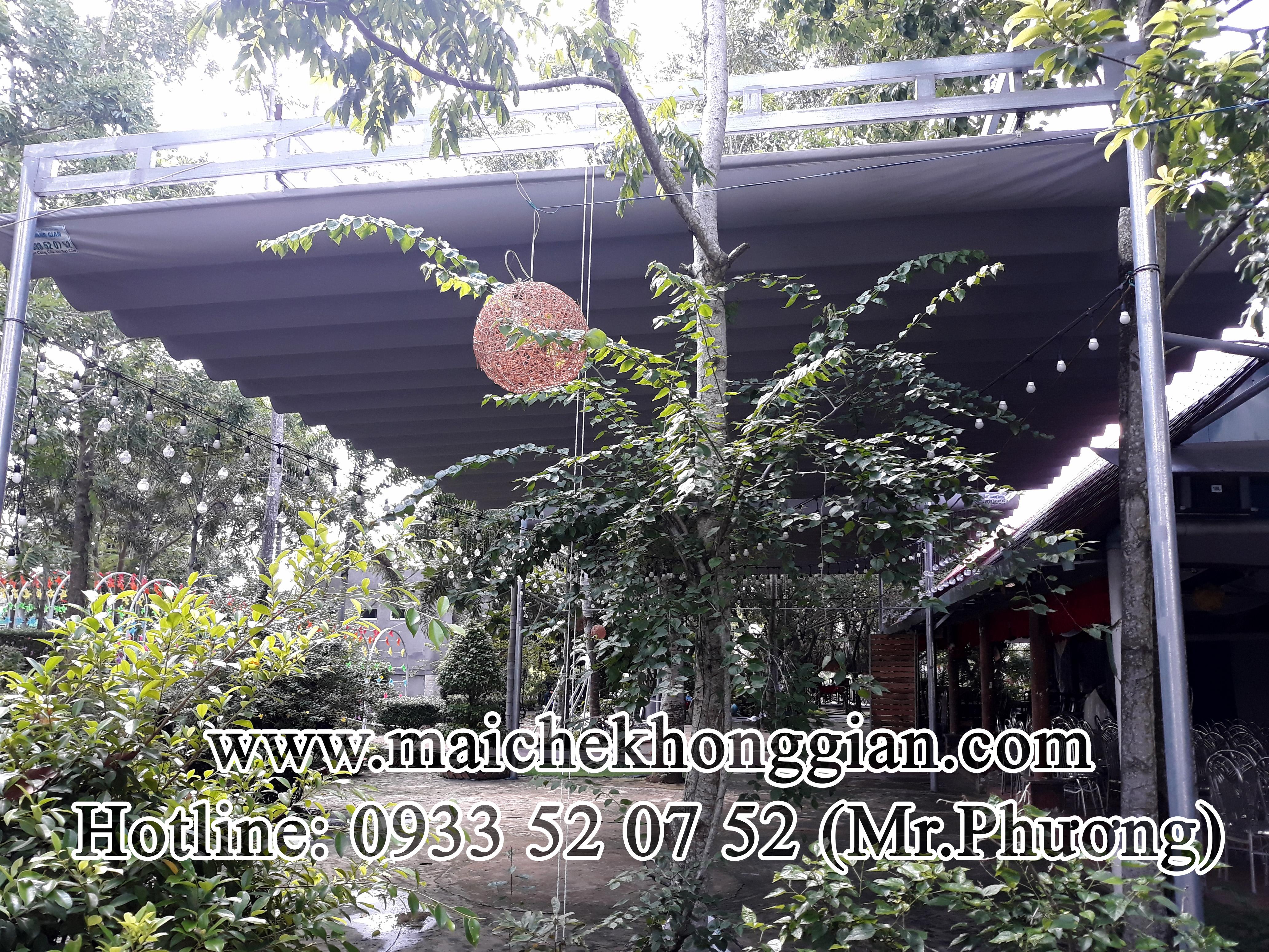 Thay bạt mái che Huyện Cù Lao Dung Sóc Trăng