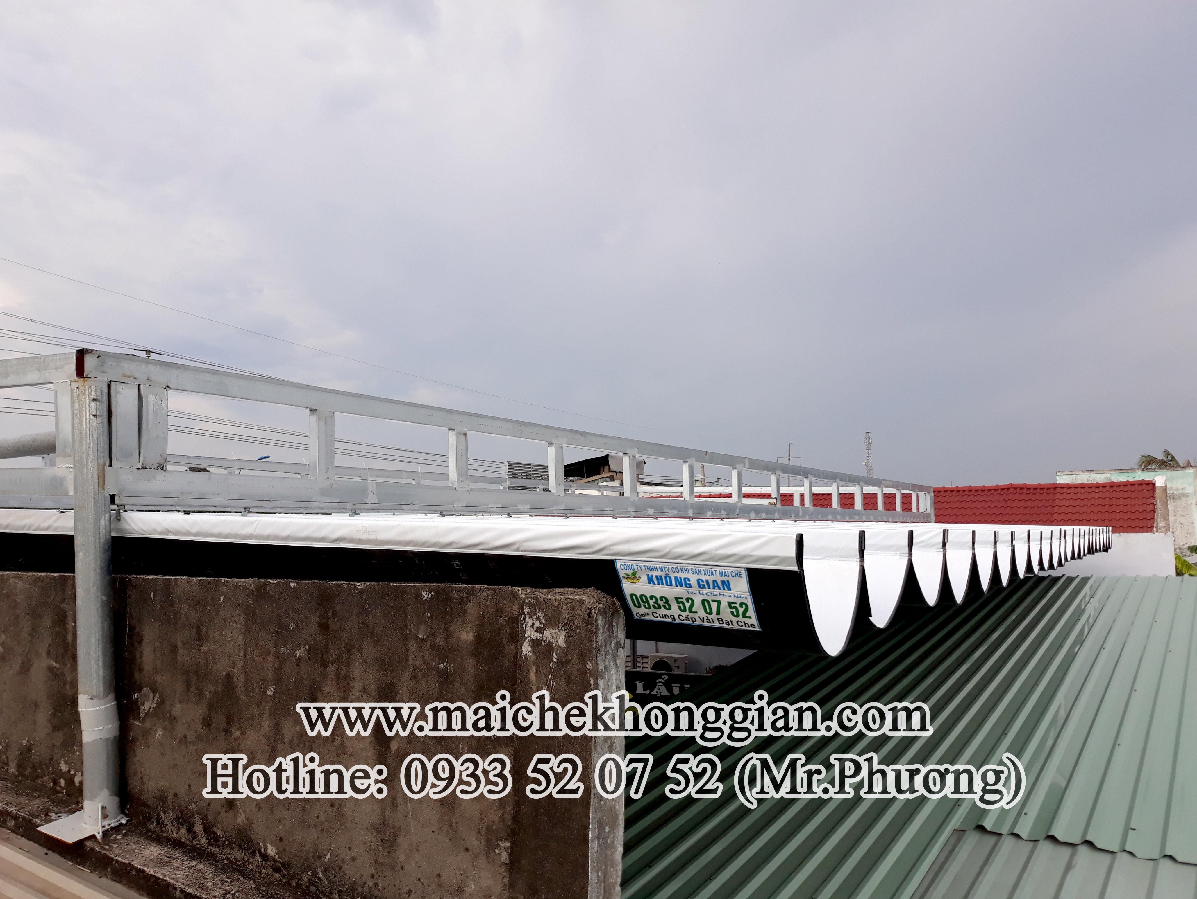 Mái Che Quán Nhậu Mỏ Cày Bắc Bến Tre