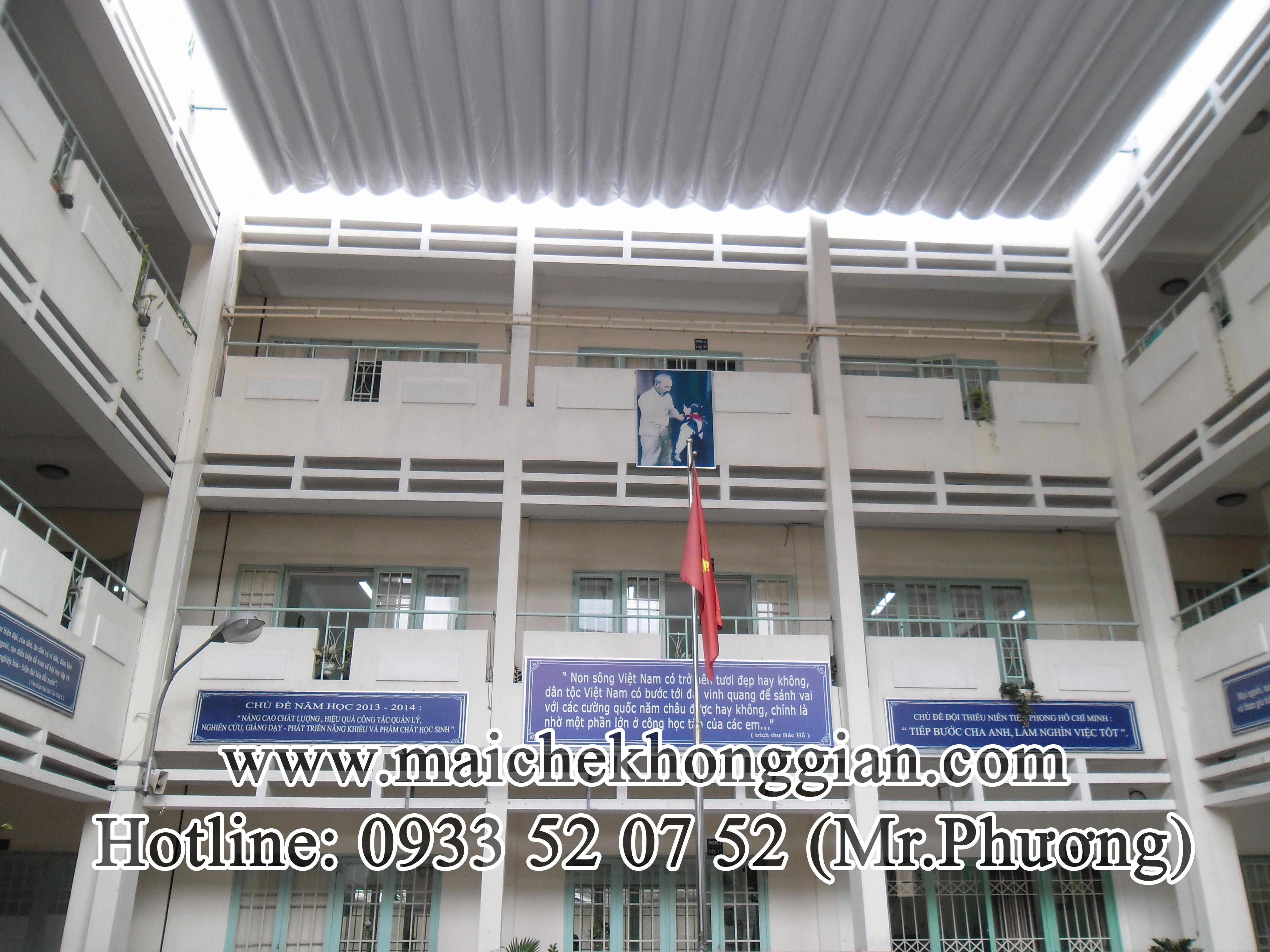 Mái Che Sân Trường Huyện Trà Ôn Vĩnh Long