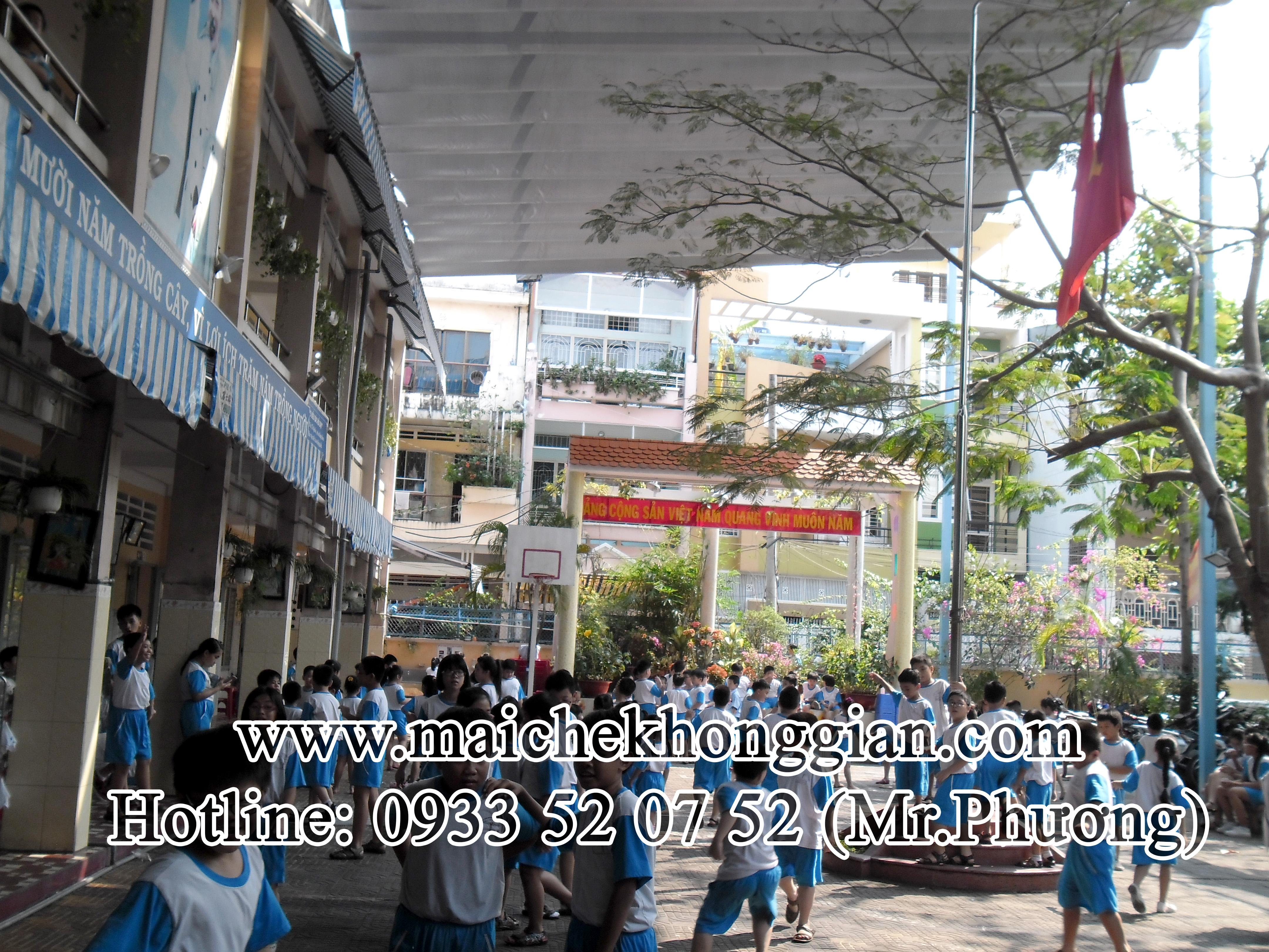 Mái Che Trường Học Huyện Châu Thành Sóc Trăng