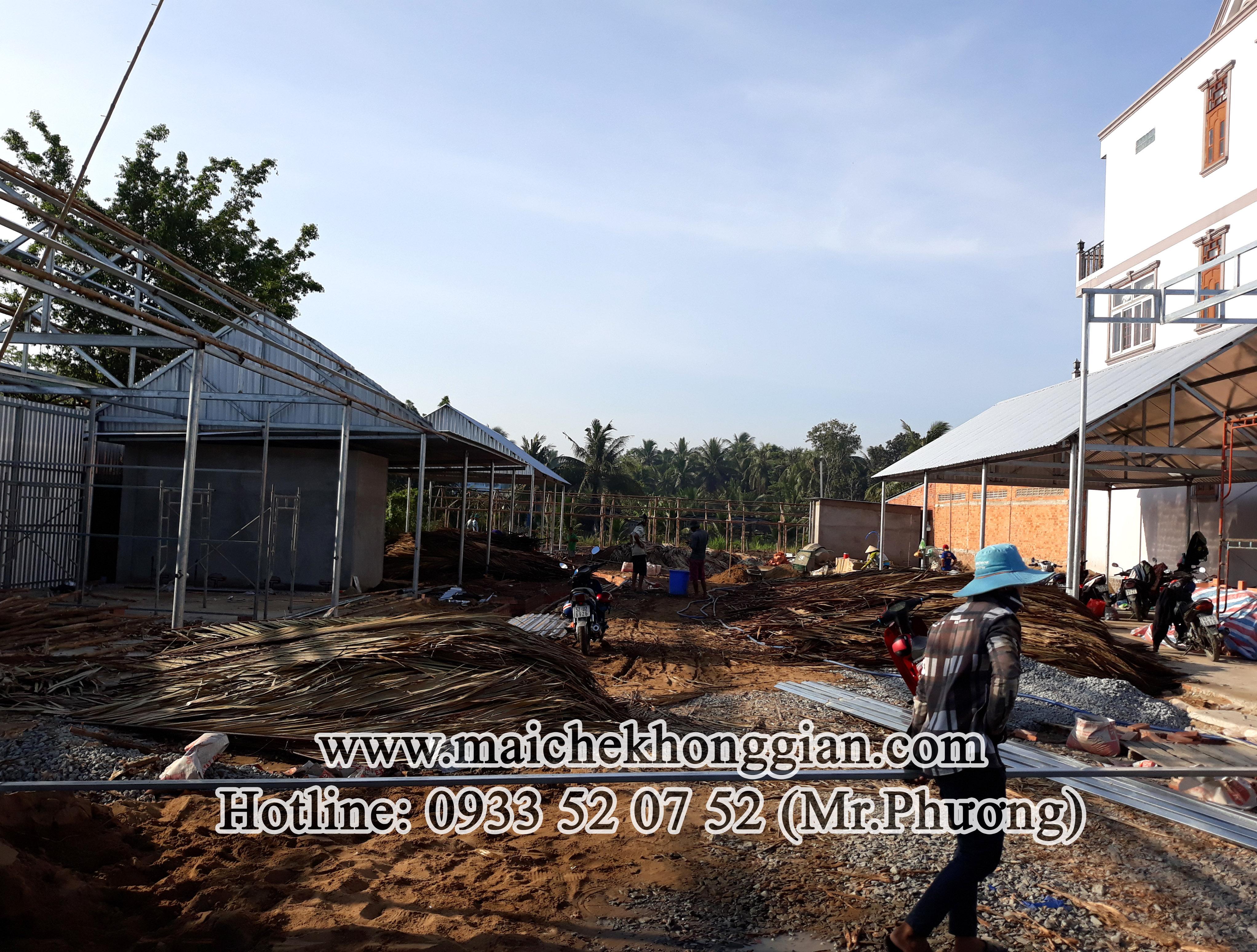 Mái Che Xếp Ly Huyện Cù Lao Dung Sóc Trăng