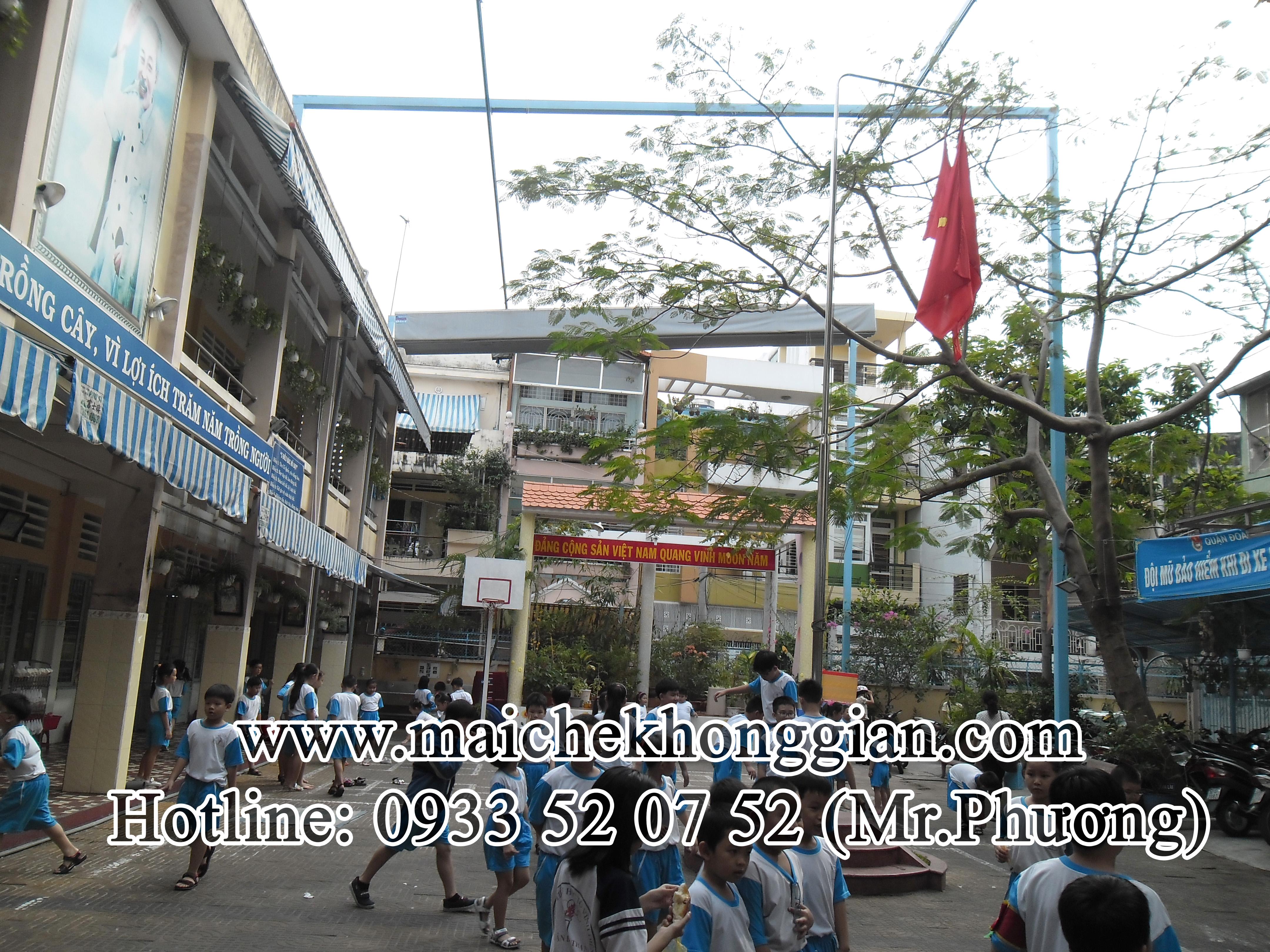 Mái che trường học Thủ Thừa Long An