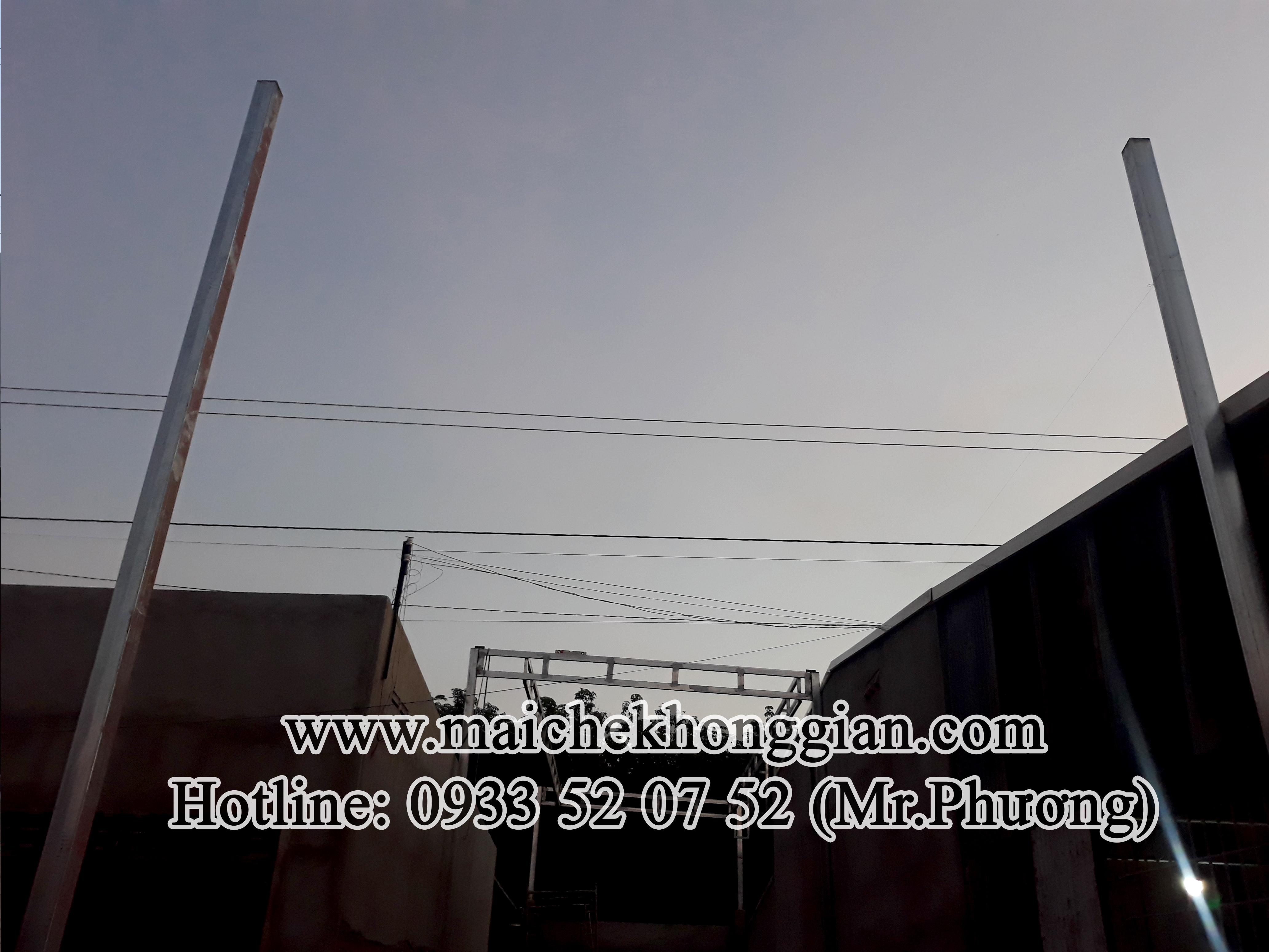 Mái xếp Cầu Ngang Trà Vinh