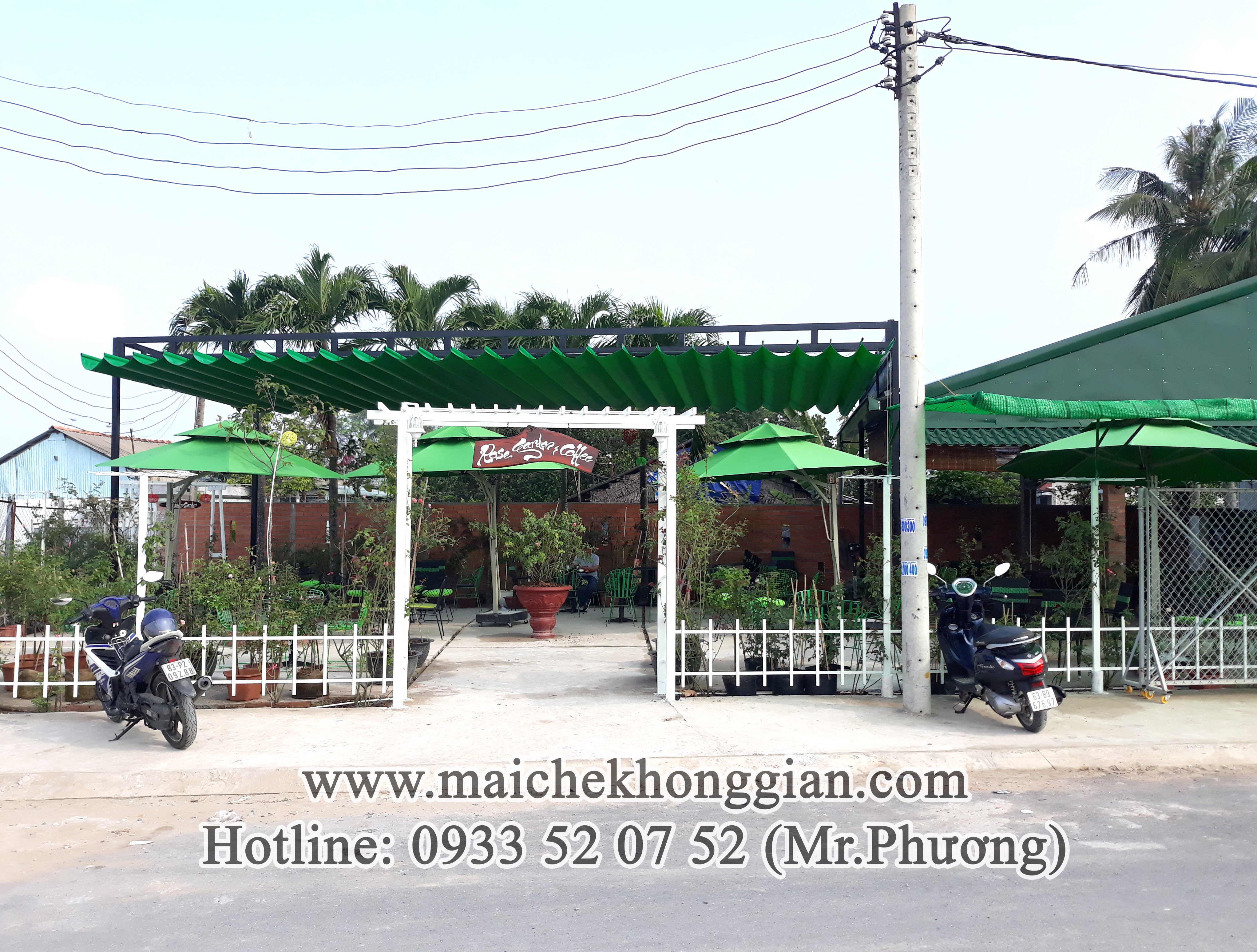 Mái Che Bạt Gò Công Tây Tiền Giang