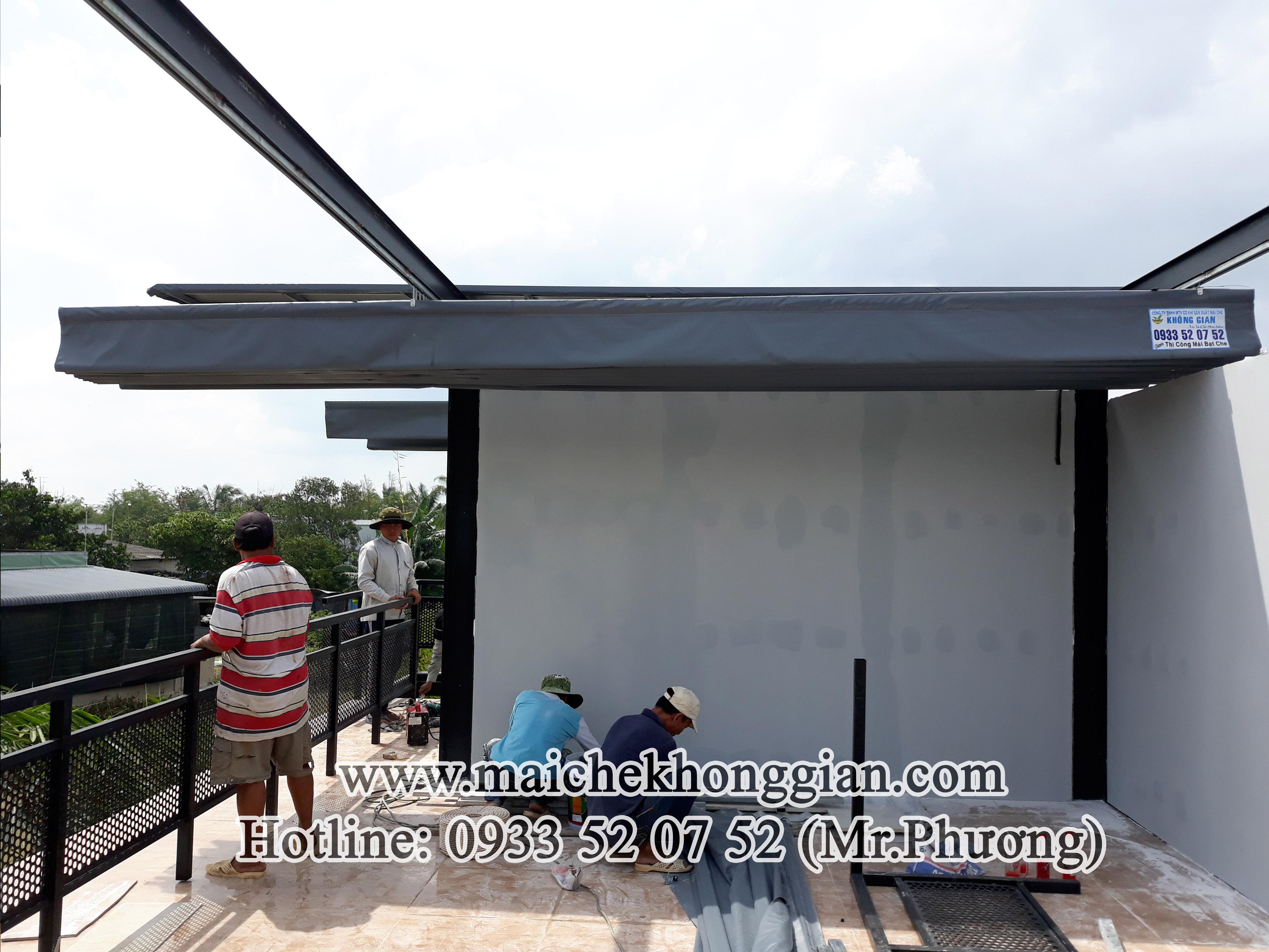 Mái Che Quán Cà Phê Thị Xã Cai Lậy Tiền Giang