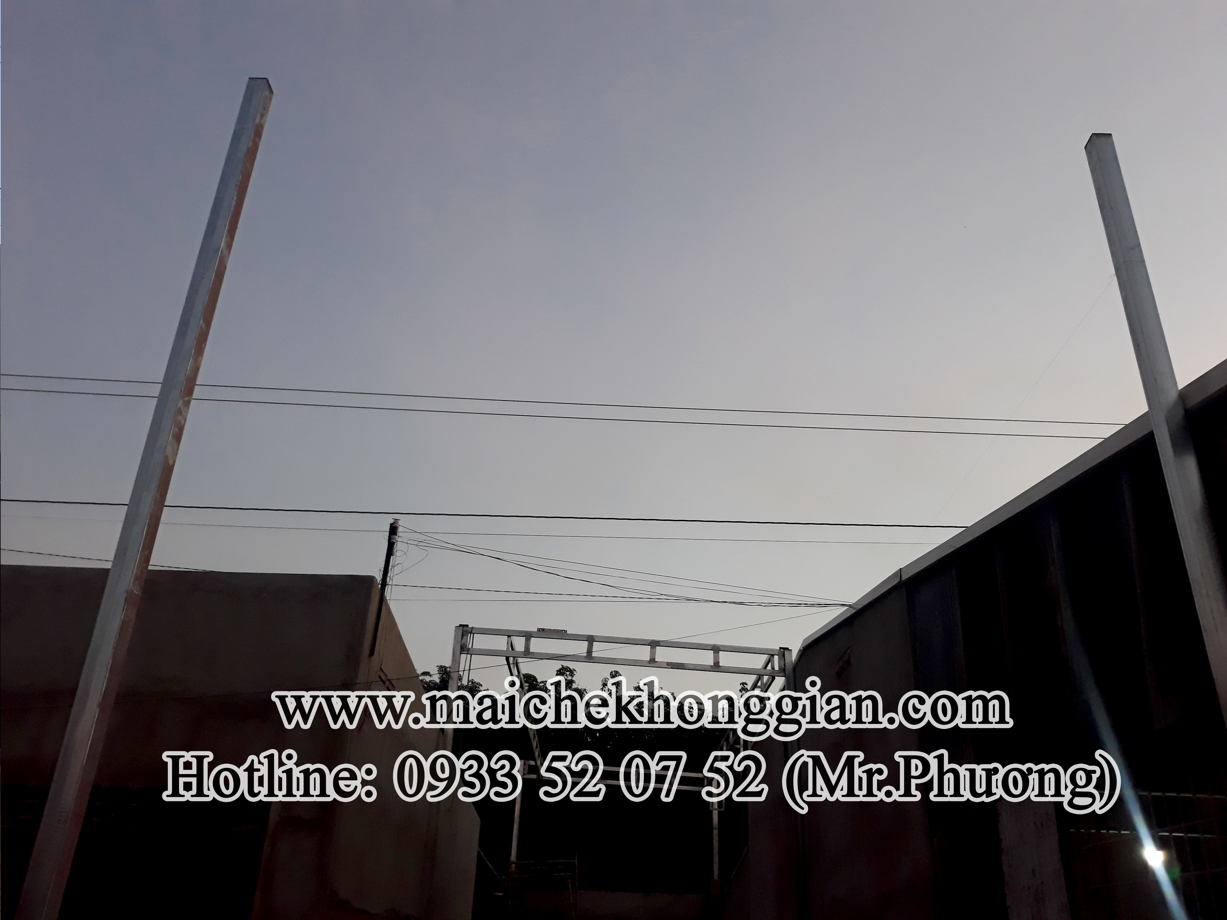 Mái xếp Châu Thành Tây Ninh