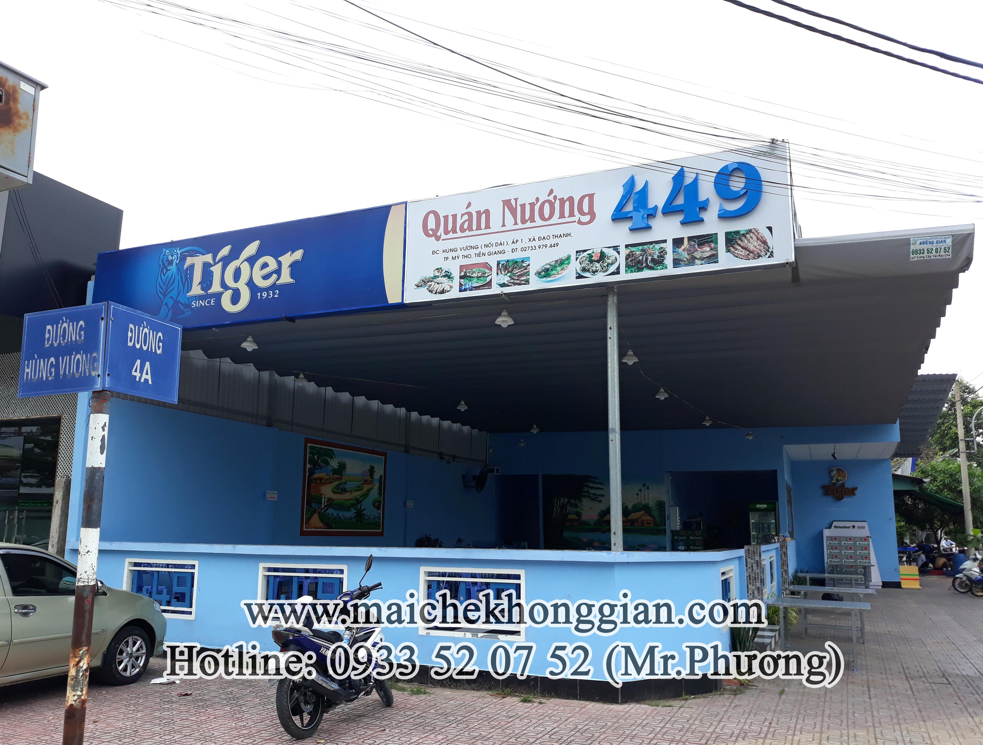 Mái Che Đa Năng Huyện Cù Lao Dung Sóc Trăng