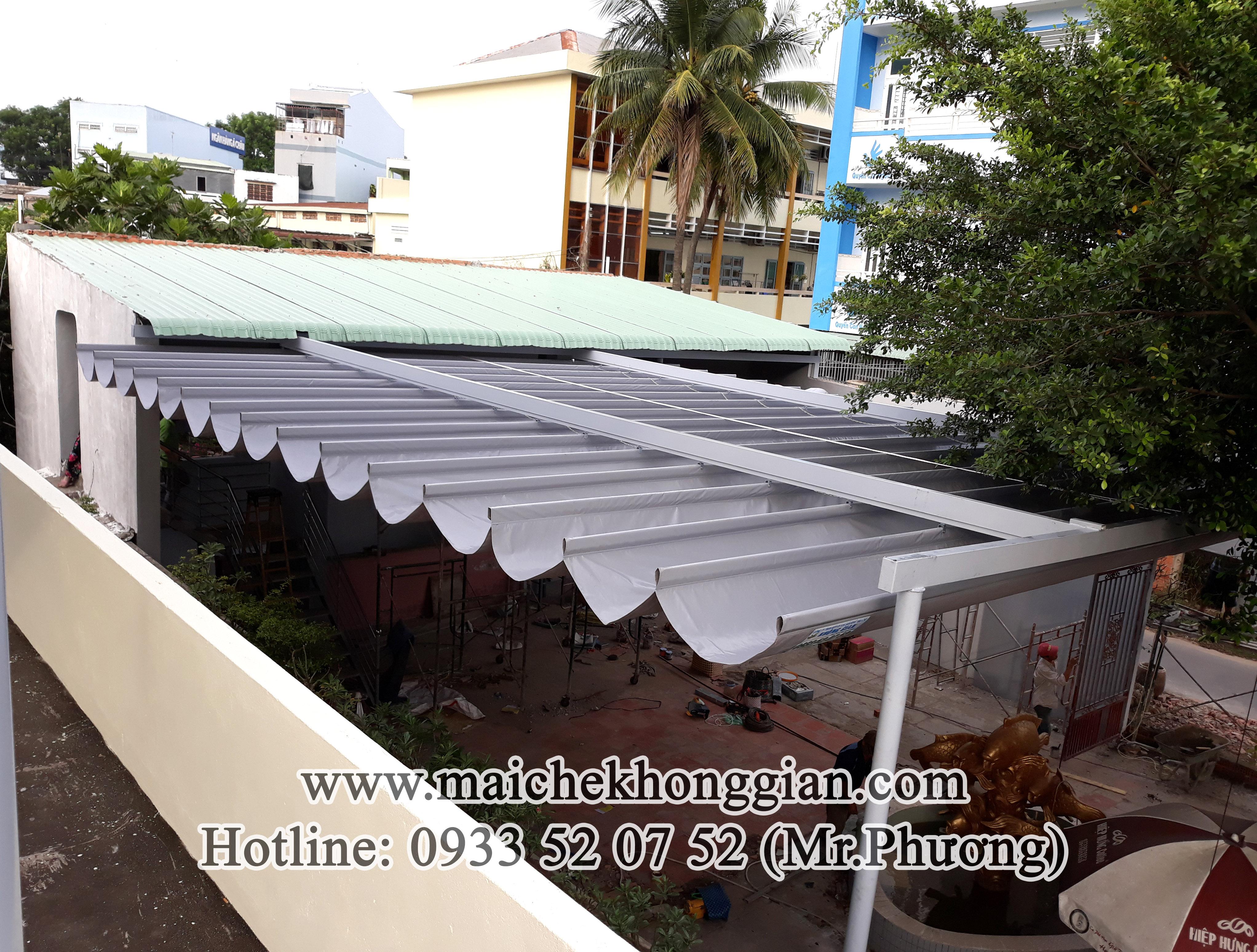 Mái Che Tự Động Huyện Long Phú Sóc Trăng