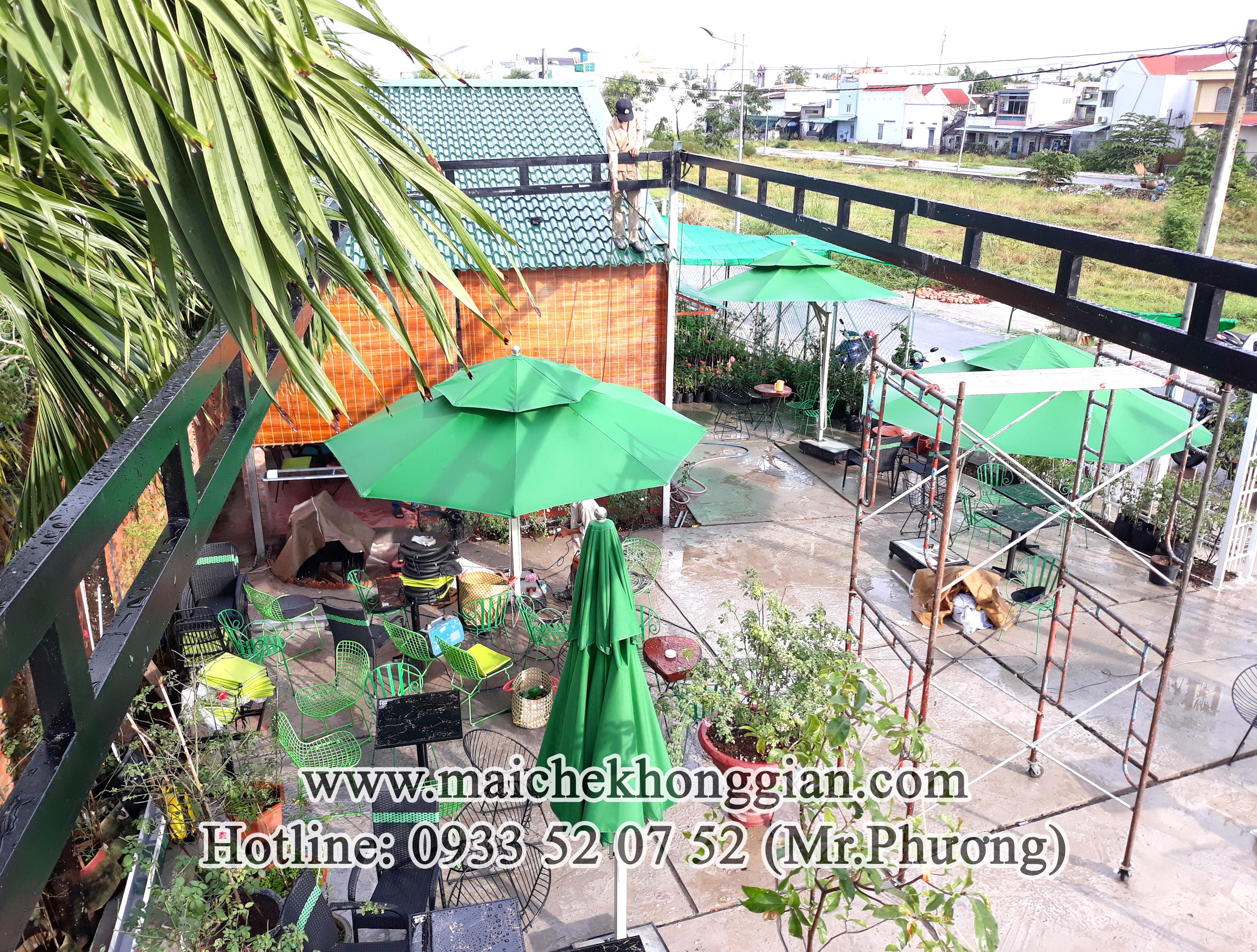 Mái Che Bạt Tân Phú Đông Tiền Giang