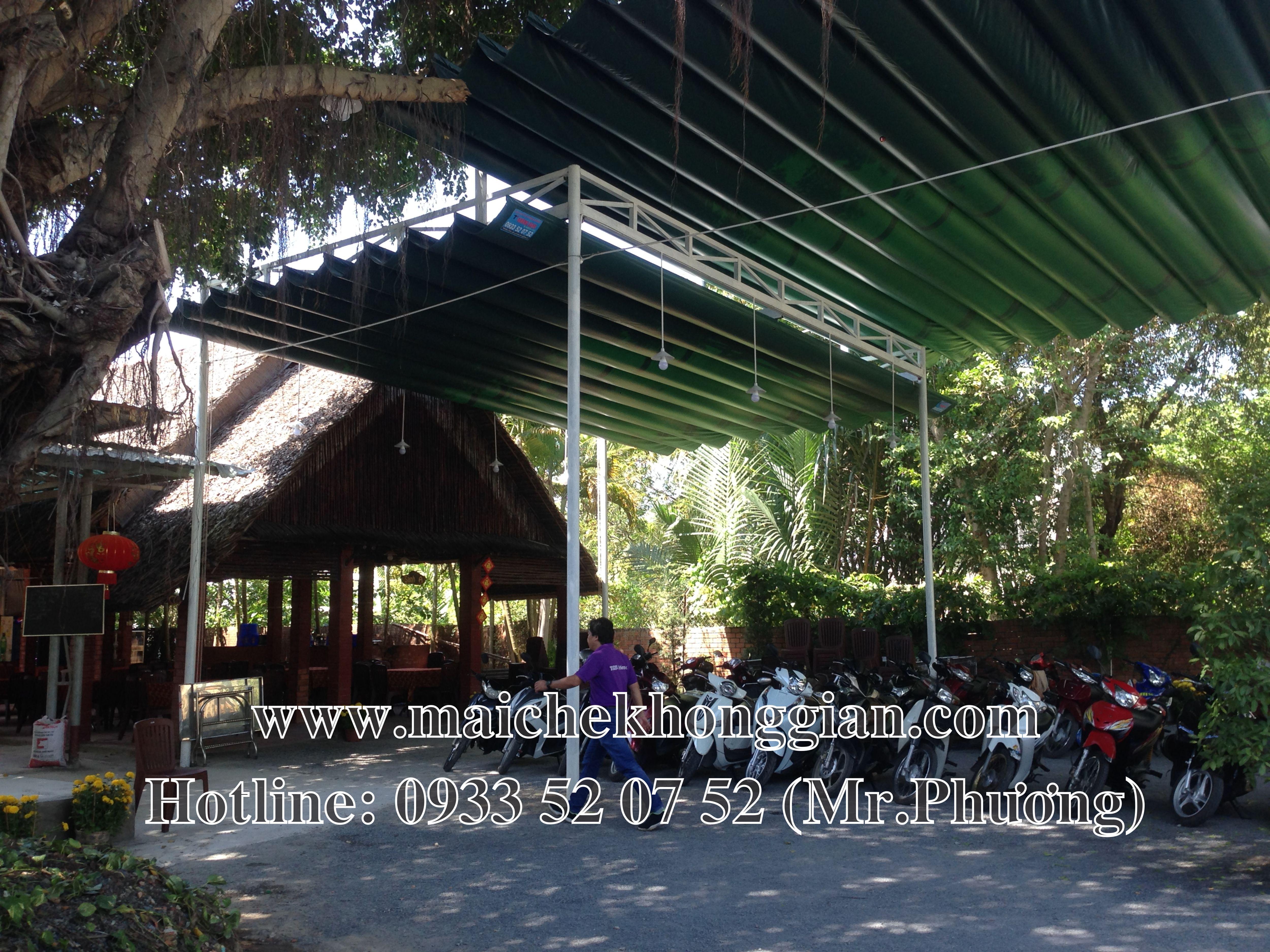 Mái Che Nhà Xe Tân Phú Đông Tiền Giang