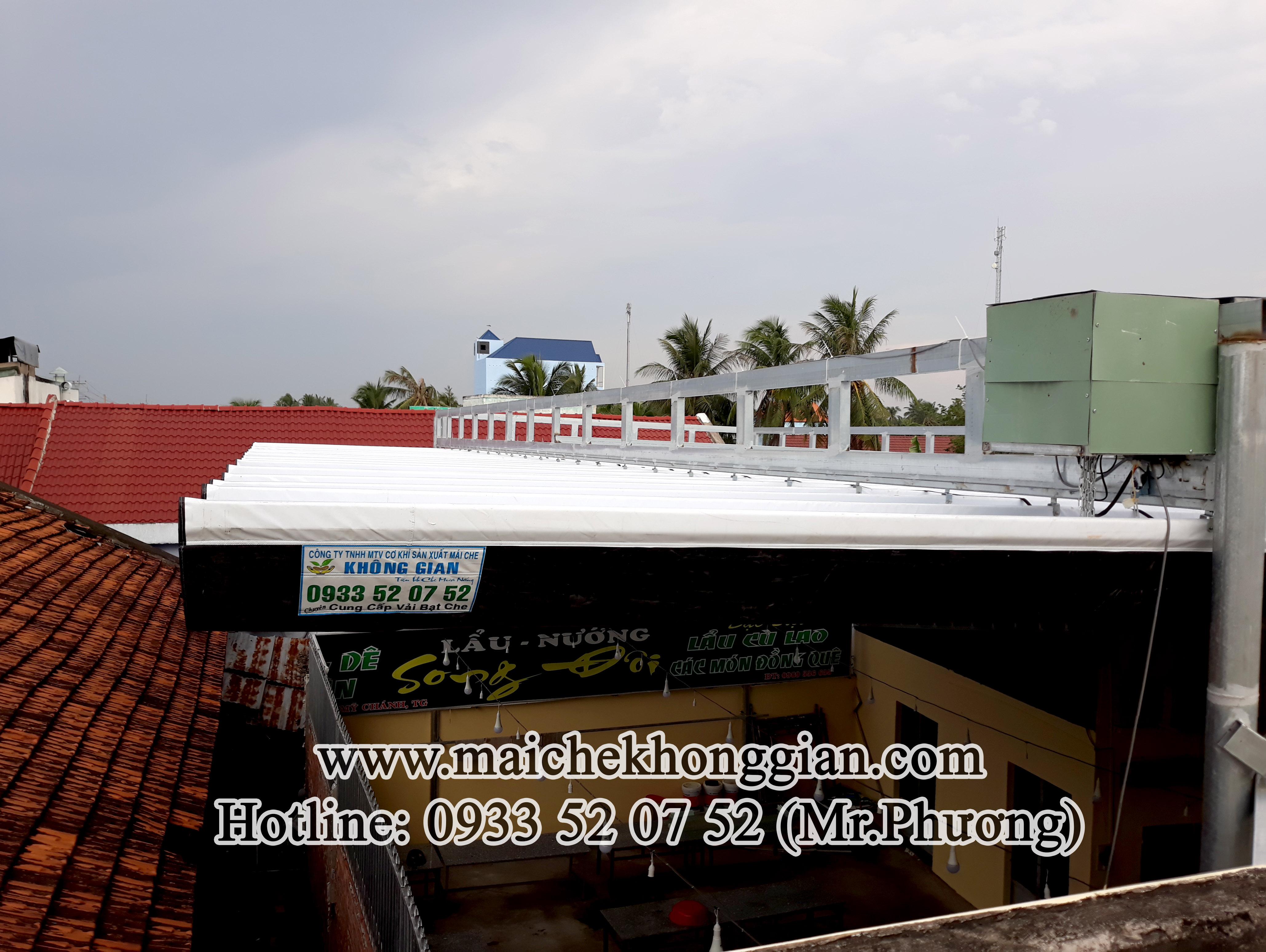 Mái Che Quán Nhậu Gò Công Tây Tiền Giang