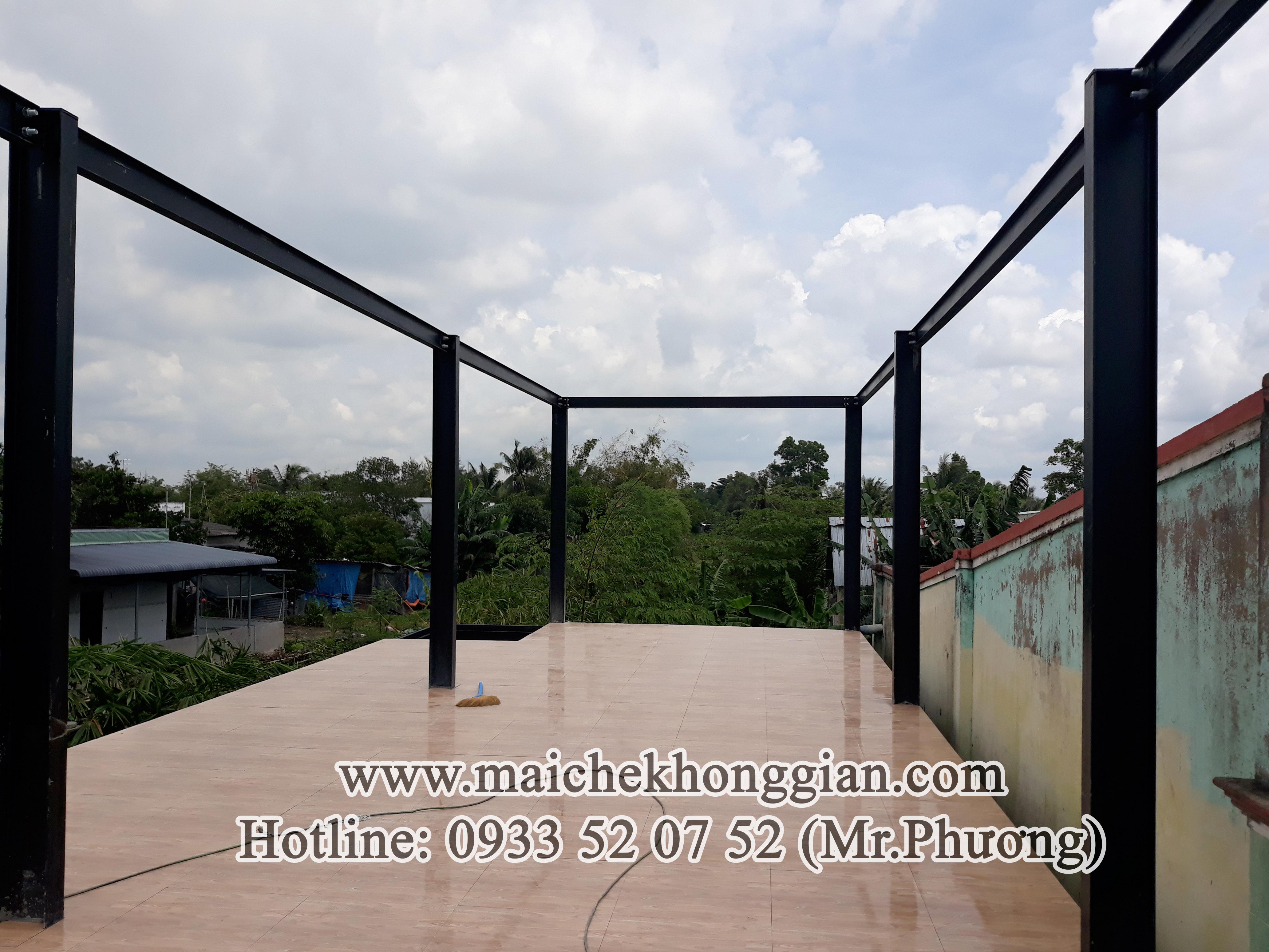 Mái Che Quán Cà Phê Chợ Gạo Tiền Giang