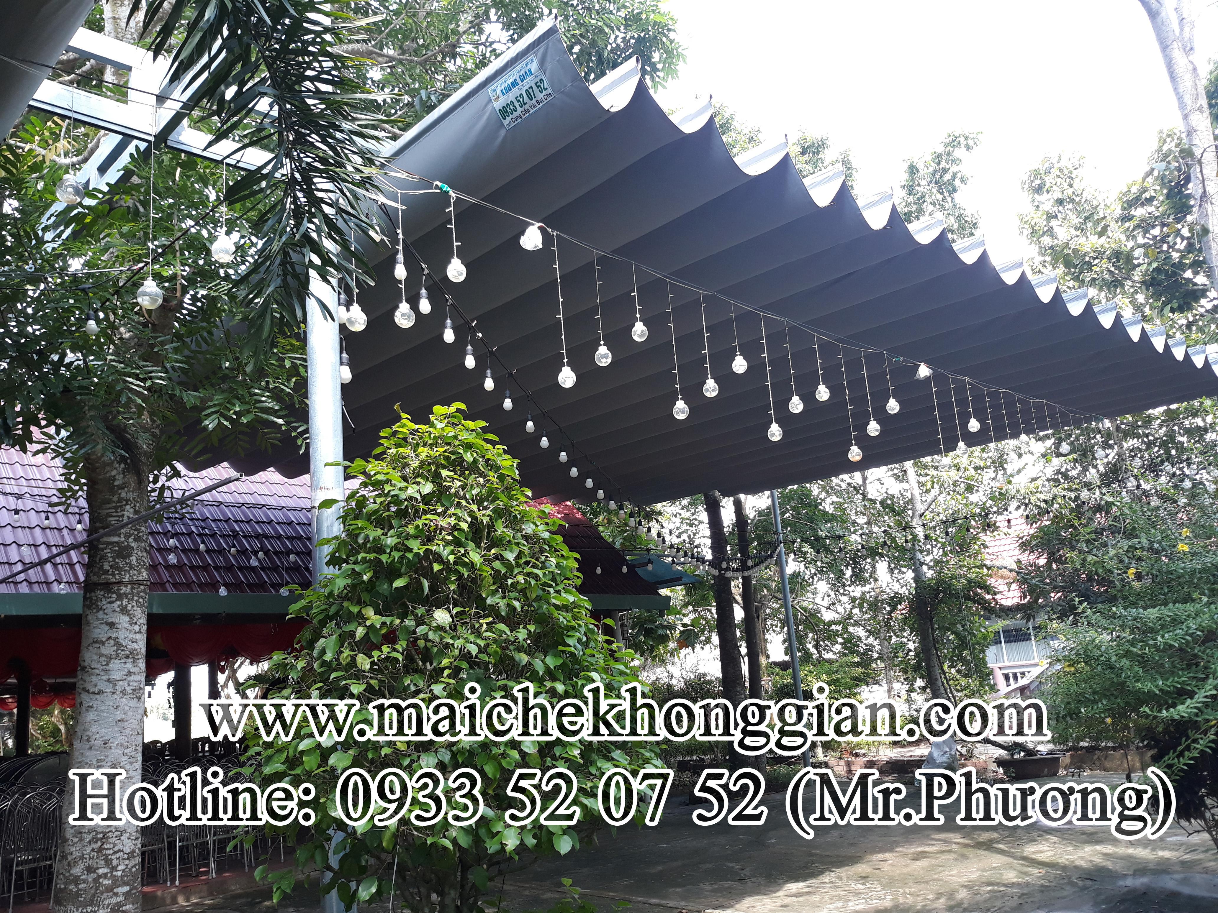 Mái Che Xếp Huyện Long Phú Sóc Trăng