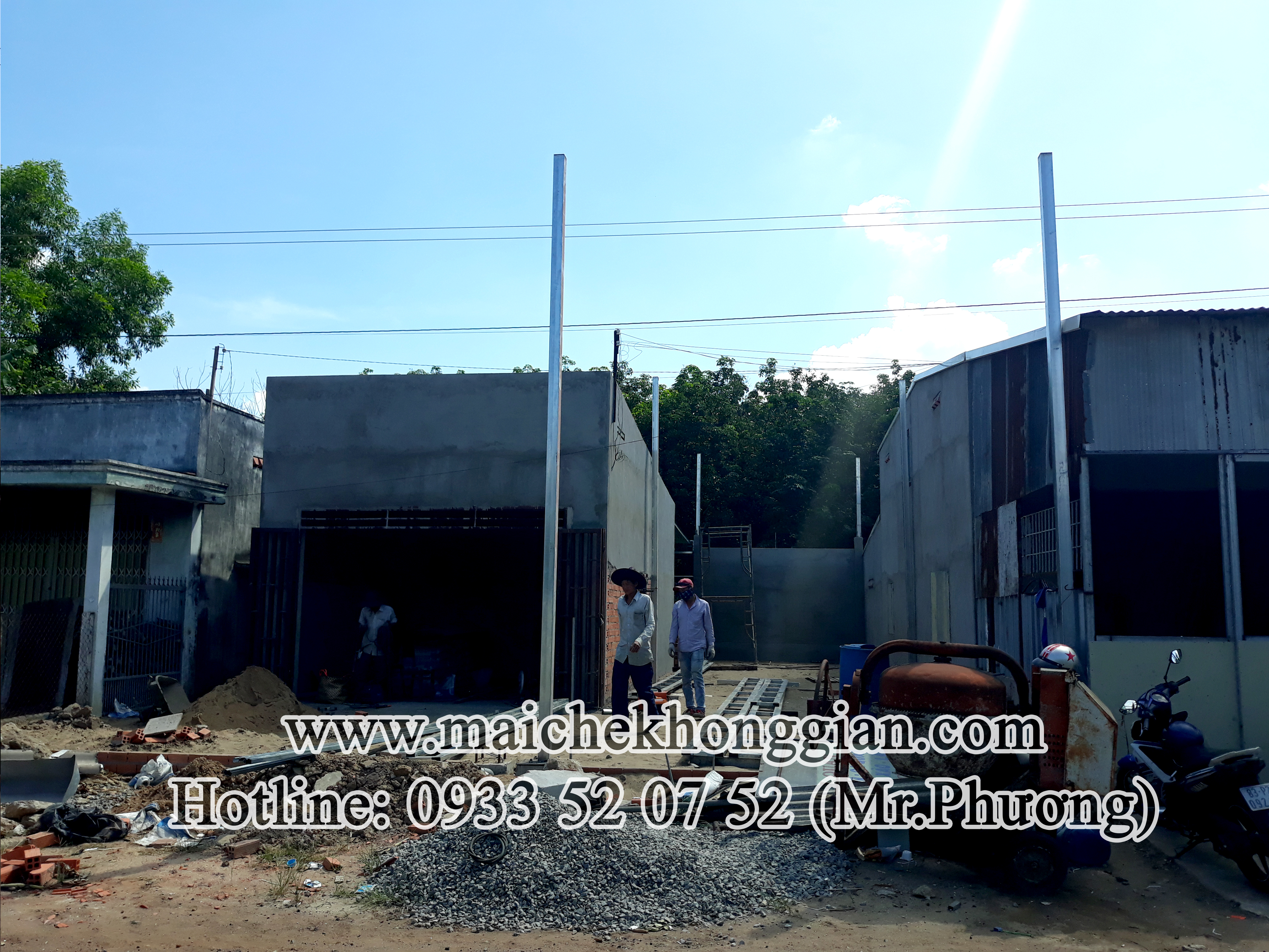 Mái xếp di động Bến Cầu Tây Ninh