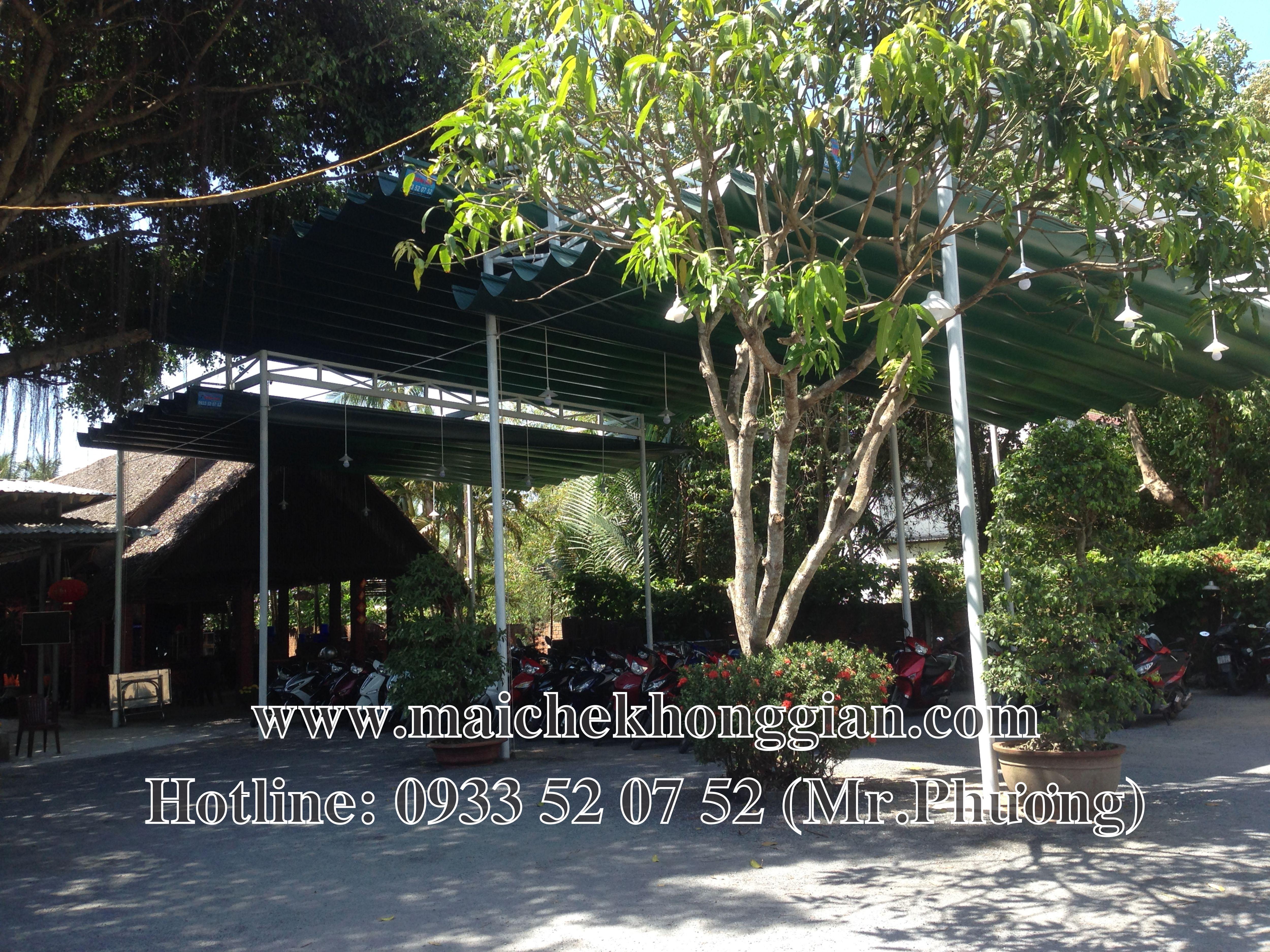 Mái Che Nhà Xe Huyện Long Phú Sóc Trăng