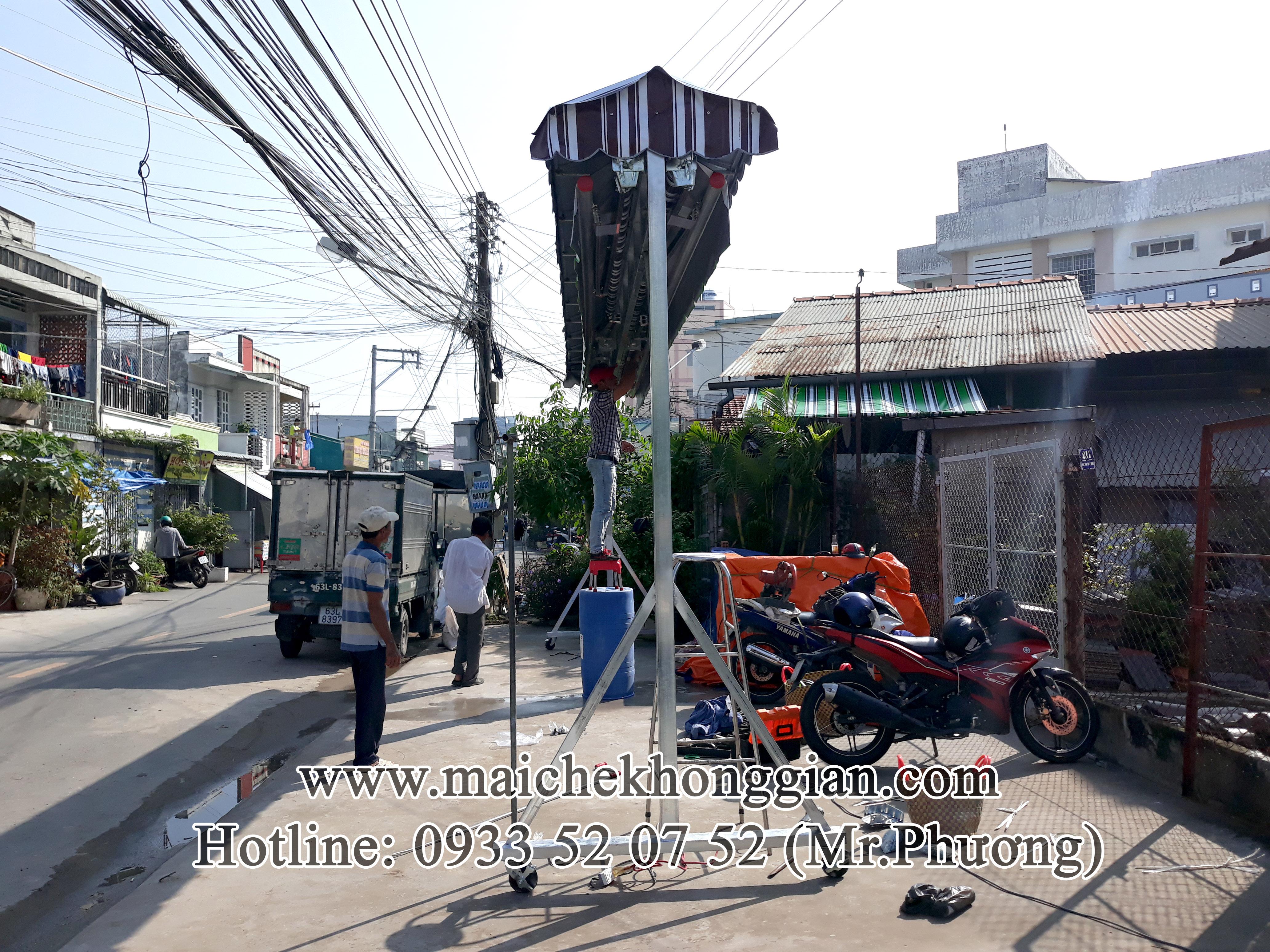Mái Che Lưu Động Chợ Lách Bến Tre