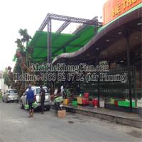 Mái Che, Mái Che Bạt Xếp-Nhà Hàng Trường Giang. 143 Trần Văn Khéo, P Cái Khế, Q Ninh Kiều, TP Cần Thơ.